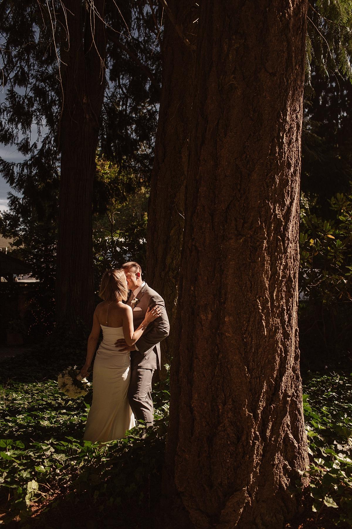 Bridal Portraits at Kiana Lodge