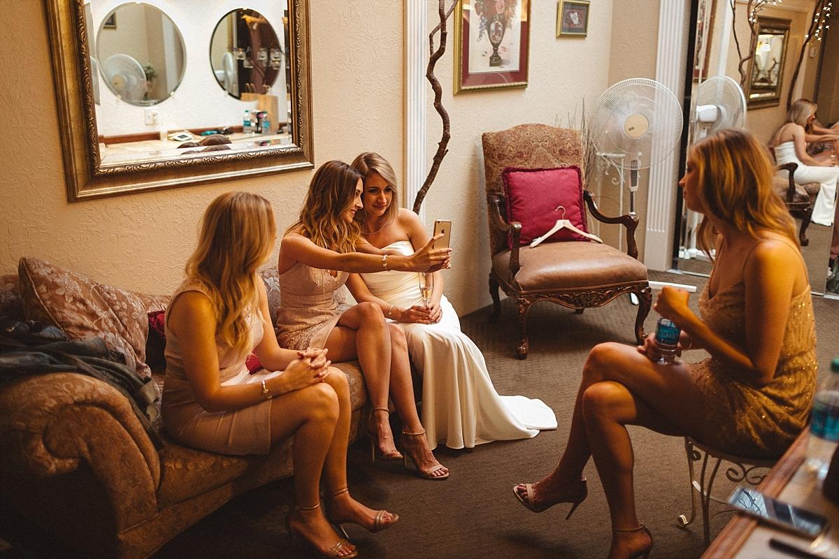 Bridal Room at Kiana Lodge