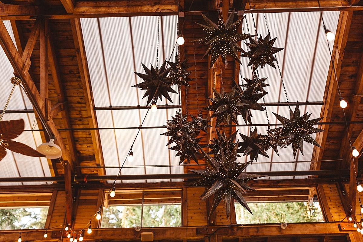 Kiana Lodge Reception Setup