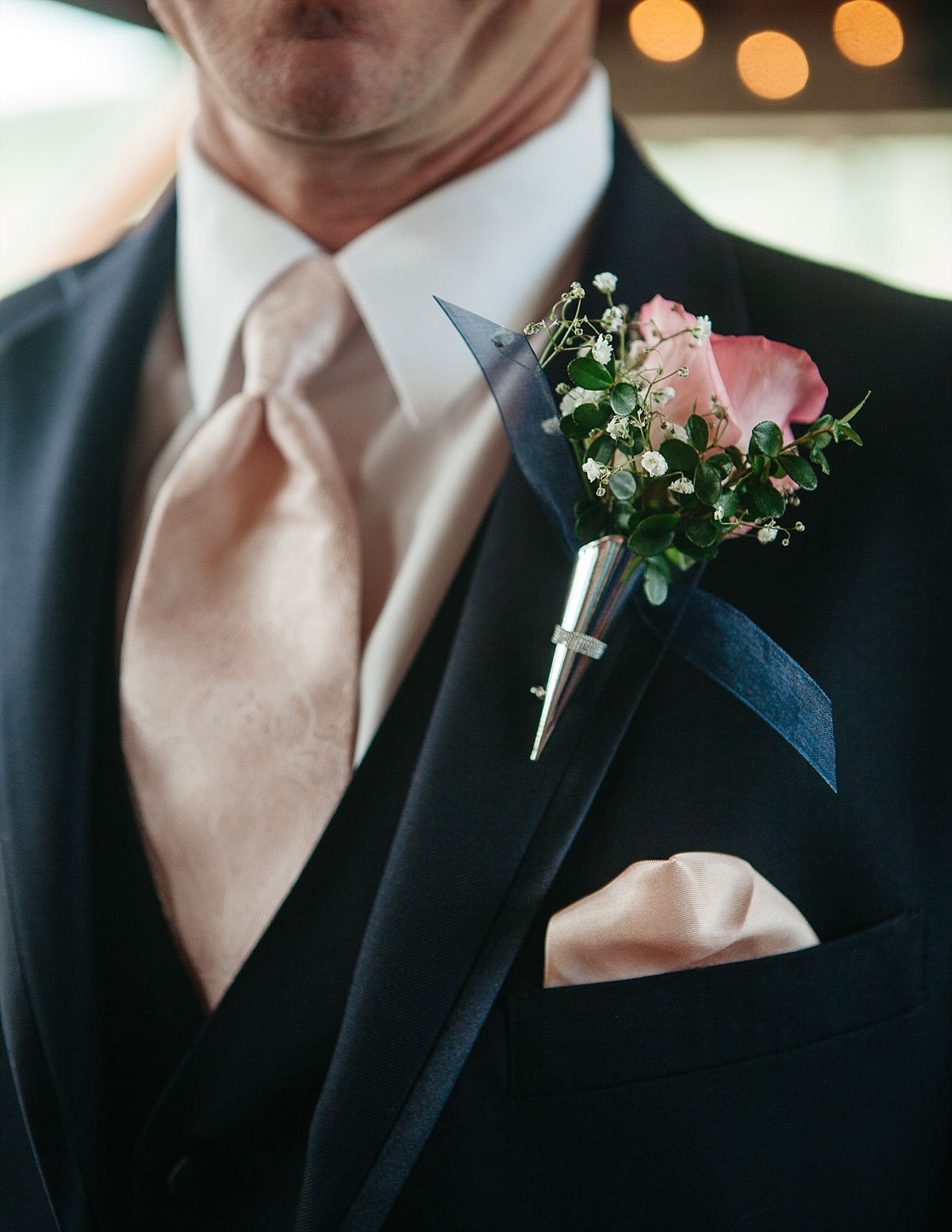 Jeremy ranch wedding groom boutonniere