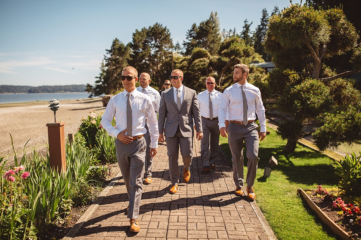 Groom Portraits at Kiana Lodge