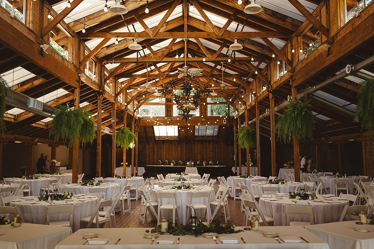 Wedding Reception at Kiana Lodge