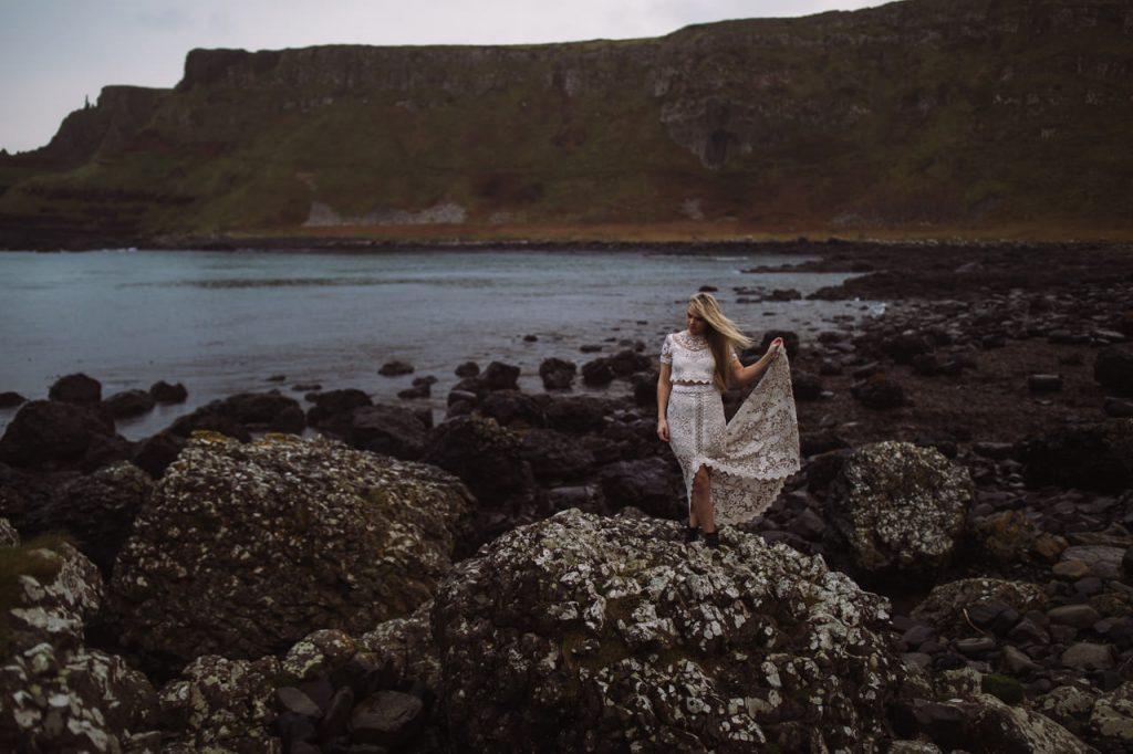 Giant's Causeway Bridal Portraits