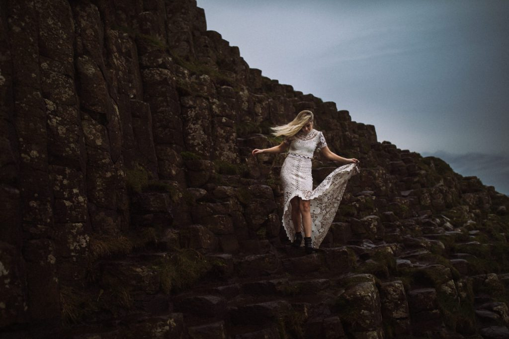 Giant's Causeway Northern Ireland Elopement