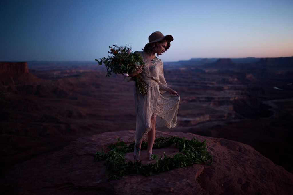 Bridal Portrait Canyonlands National Park