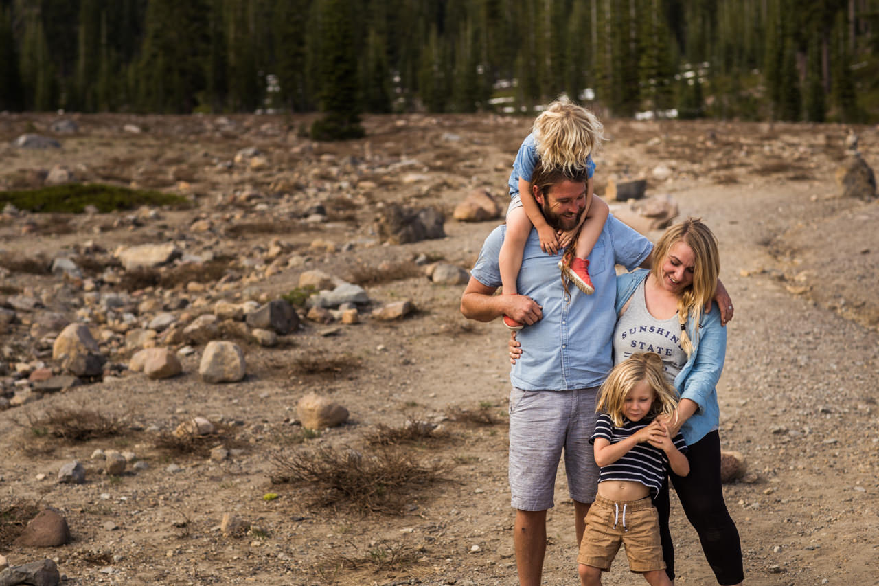 Mount Shasta Family Photography