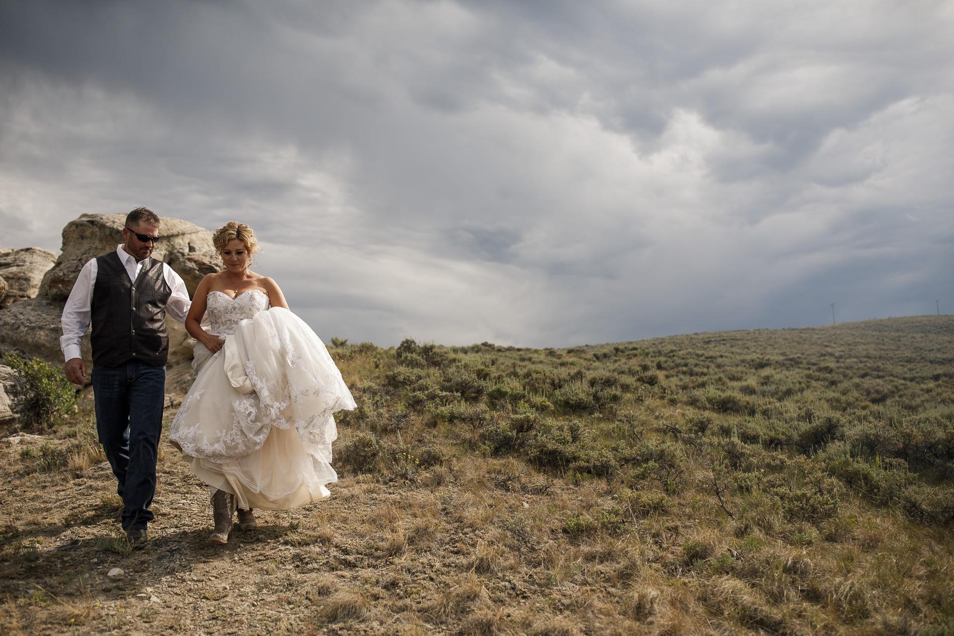 Campground Wedding