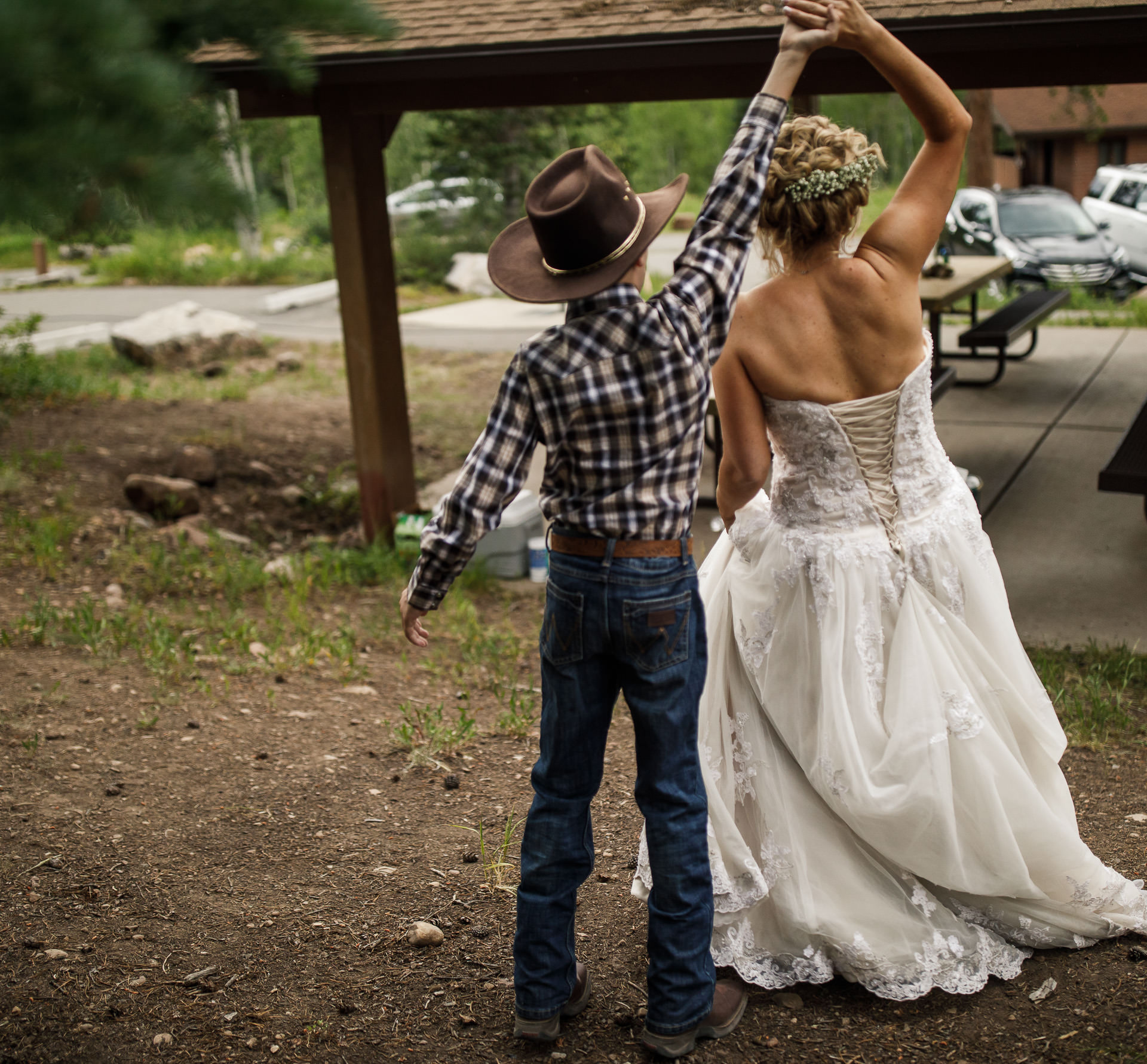 Campground Wedding