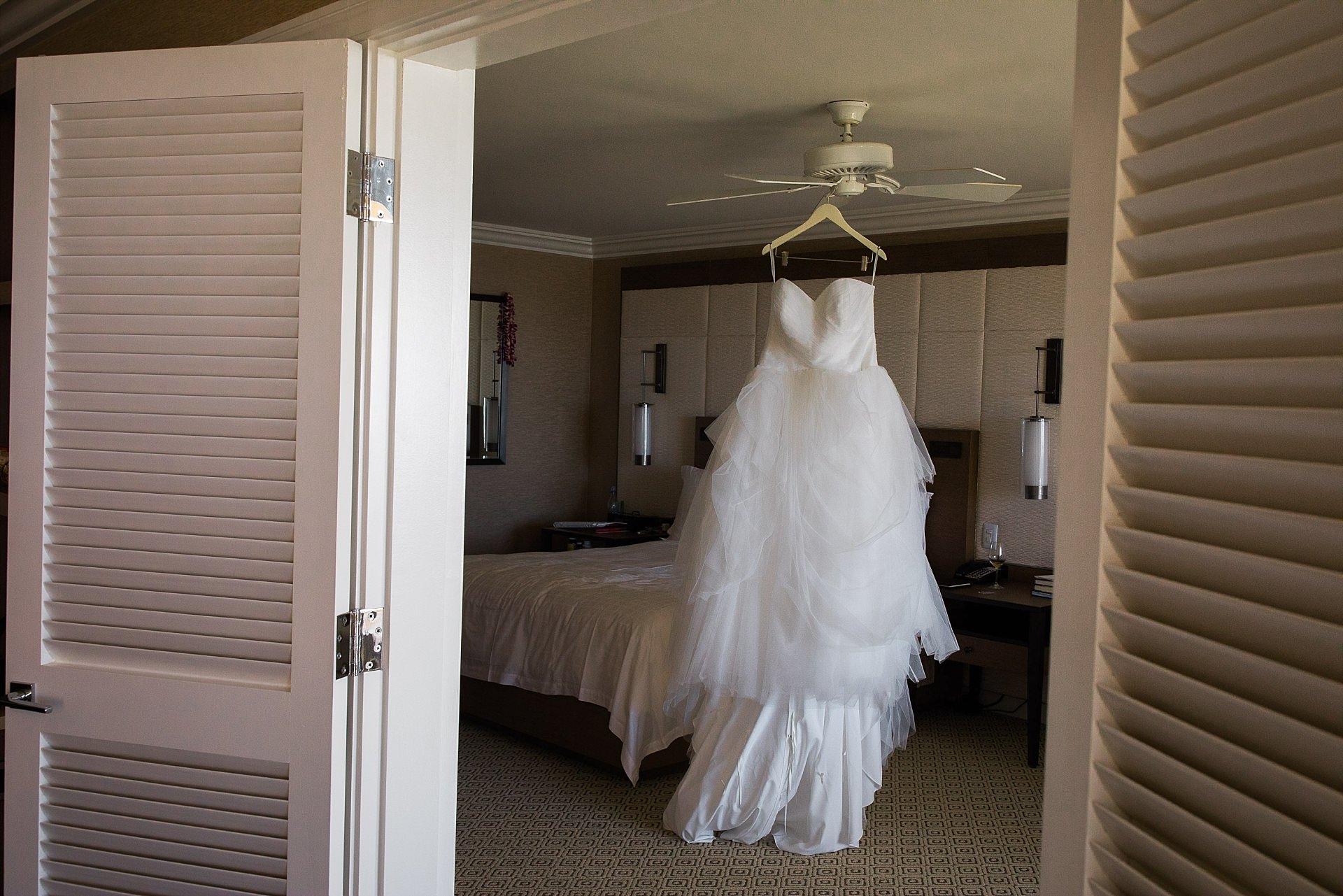 Maui Wedding Bride Getting Ready