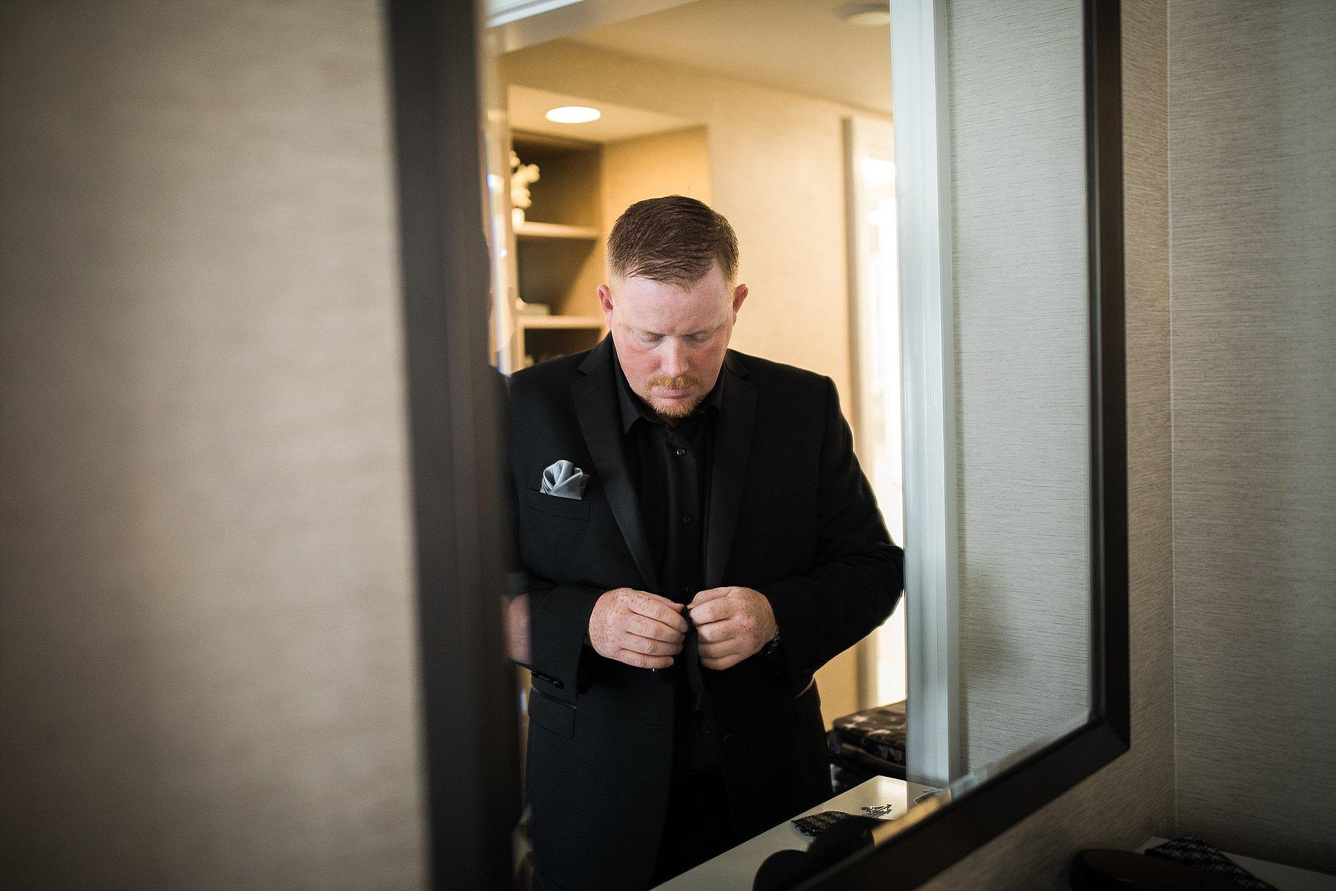 Maui Wedding Groom Getting Ready
