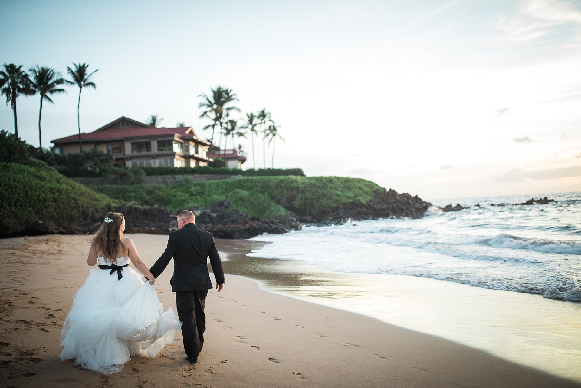 Four Seasons Resort Beach Wedding Portraits