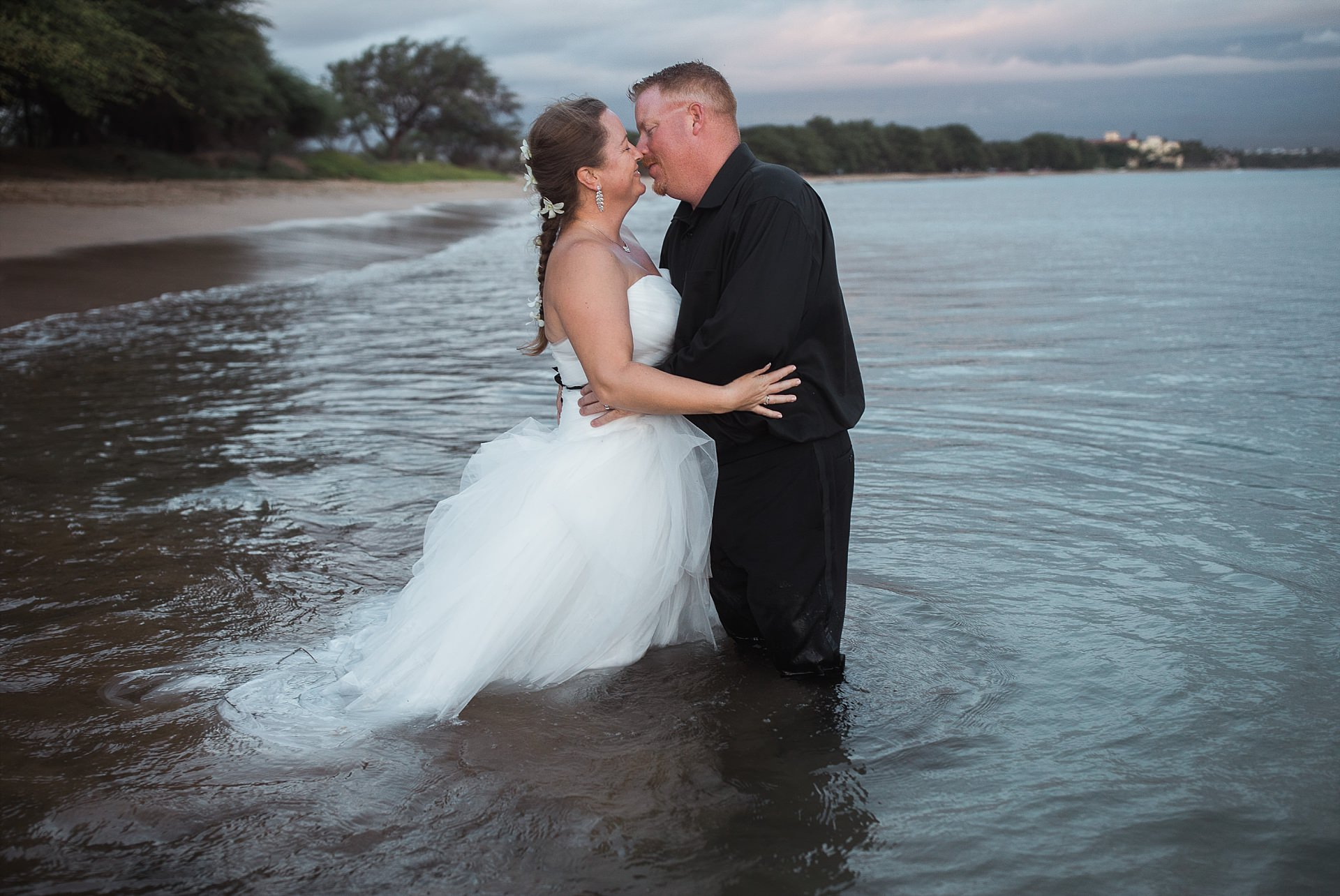 Maui Wedding Beach Portraits