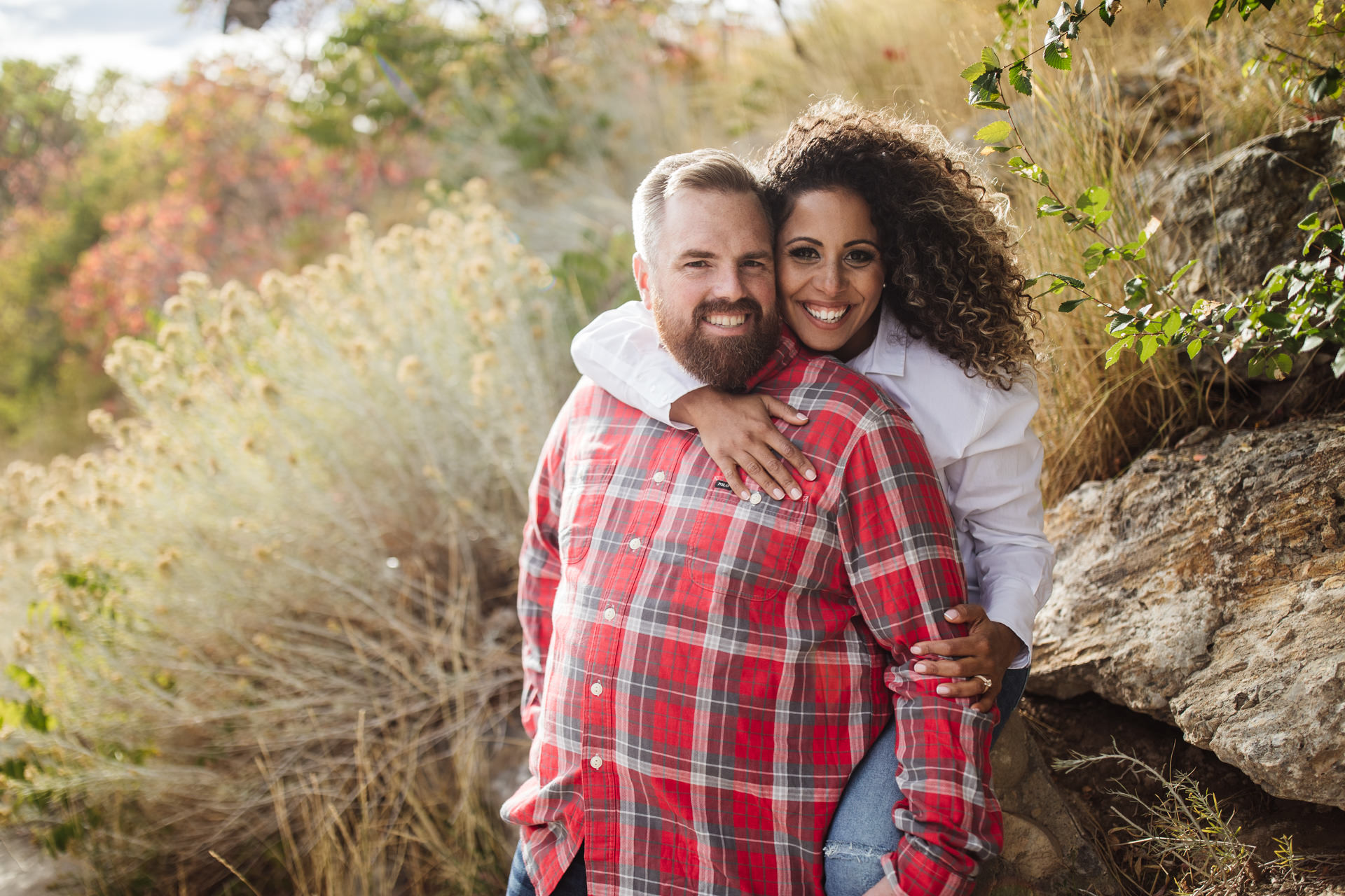 Gerusa & Eric Engagement Photo Utah