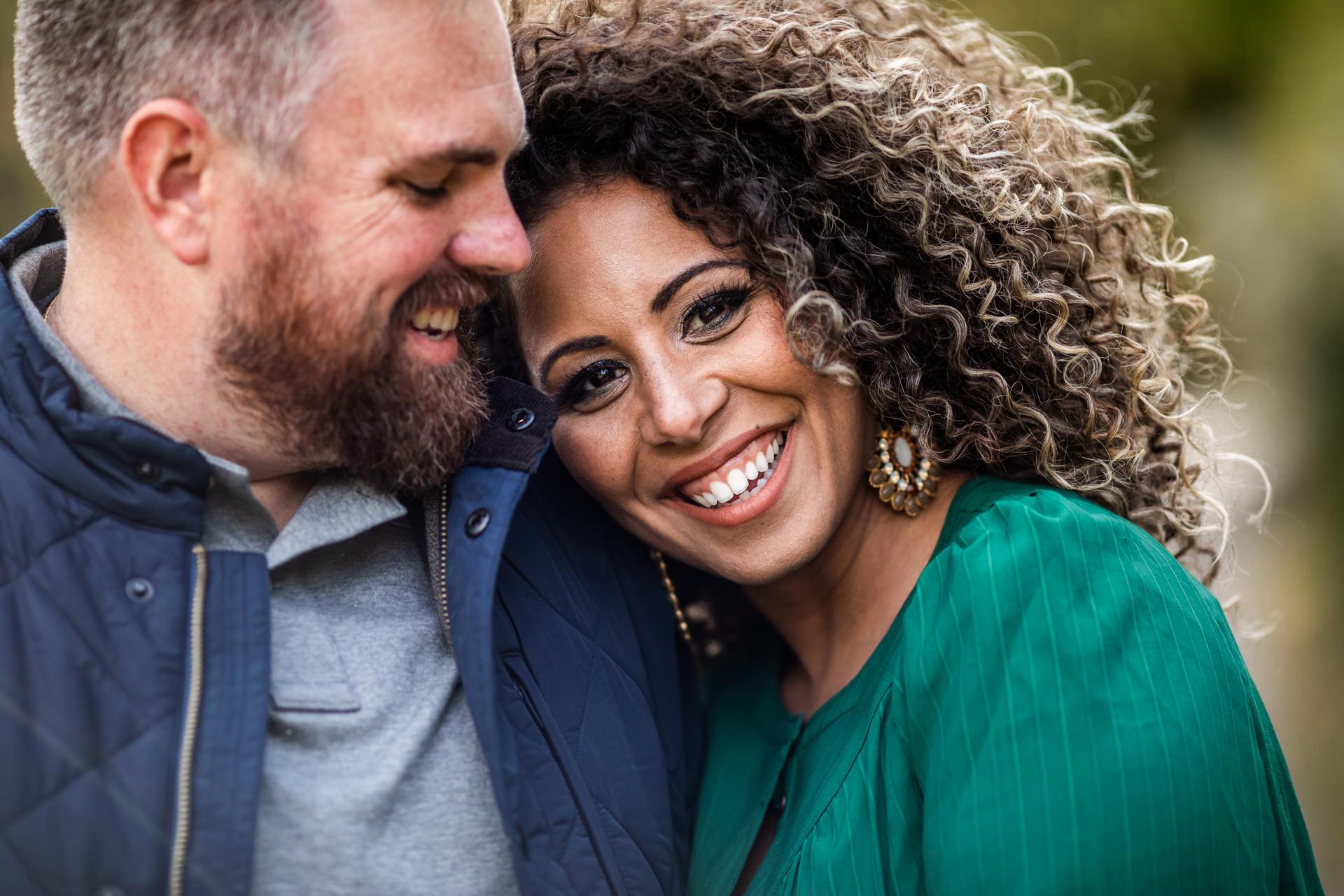 Gerusa & Eric Engagement Photo Closeup Utah