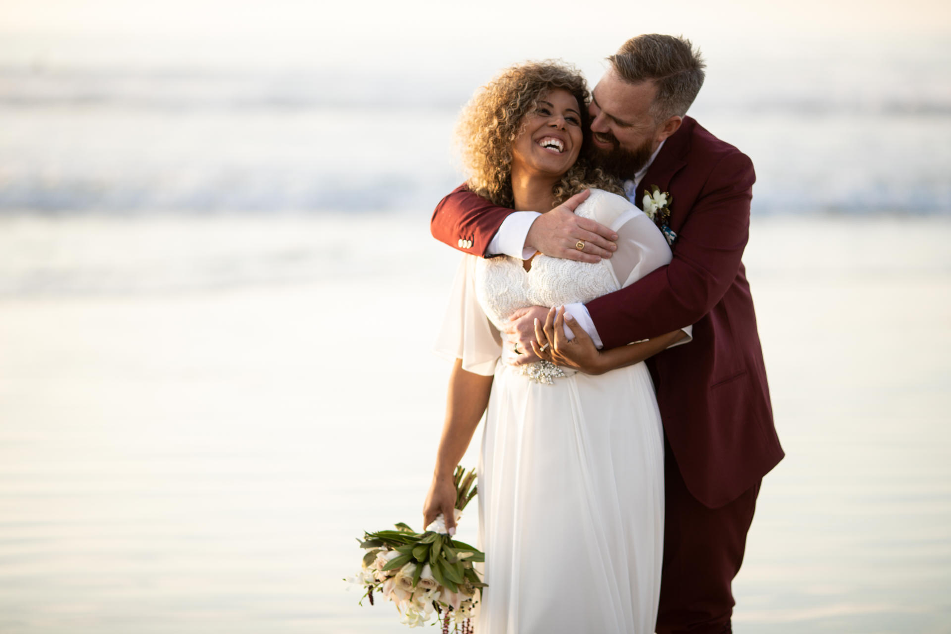 Gerusa Eric La Jolla Beach Wedding by Faces Photography