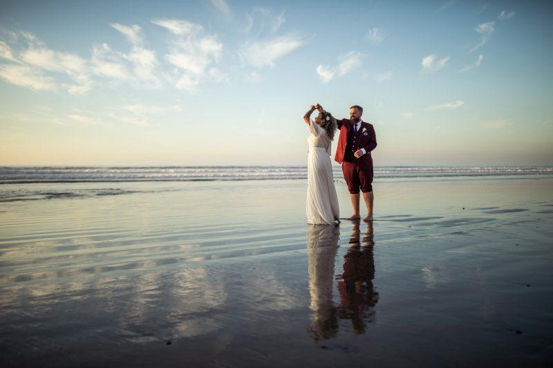 Gerusa and Eric La Jolla Beach Wedding Faces Photography