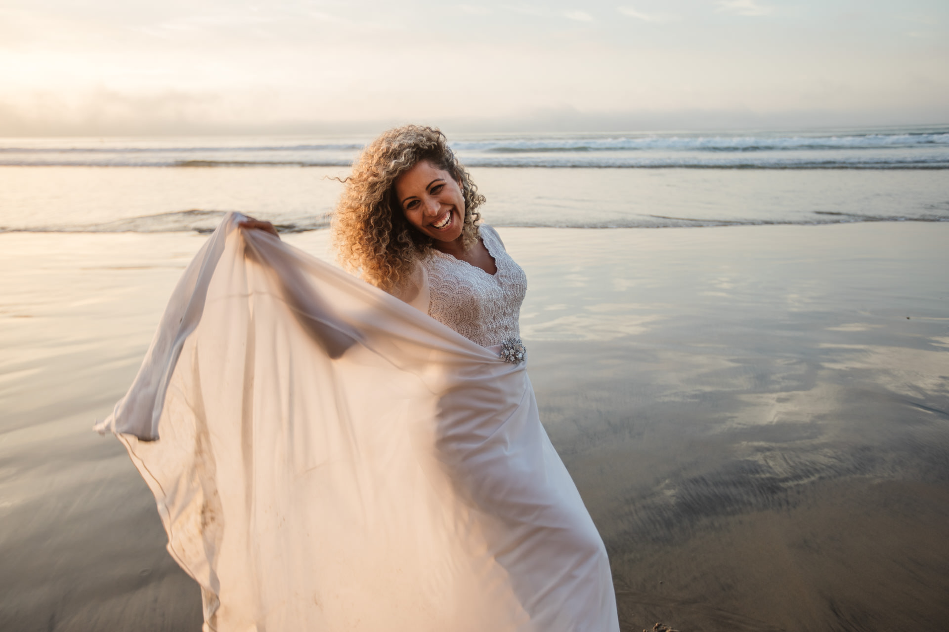 Gerusa Eric La Jolla San Diego Beach Wedding by Faces Photography