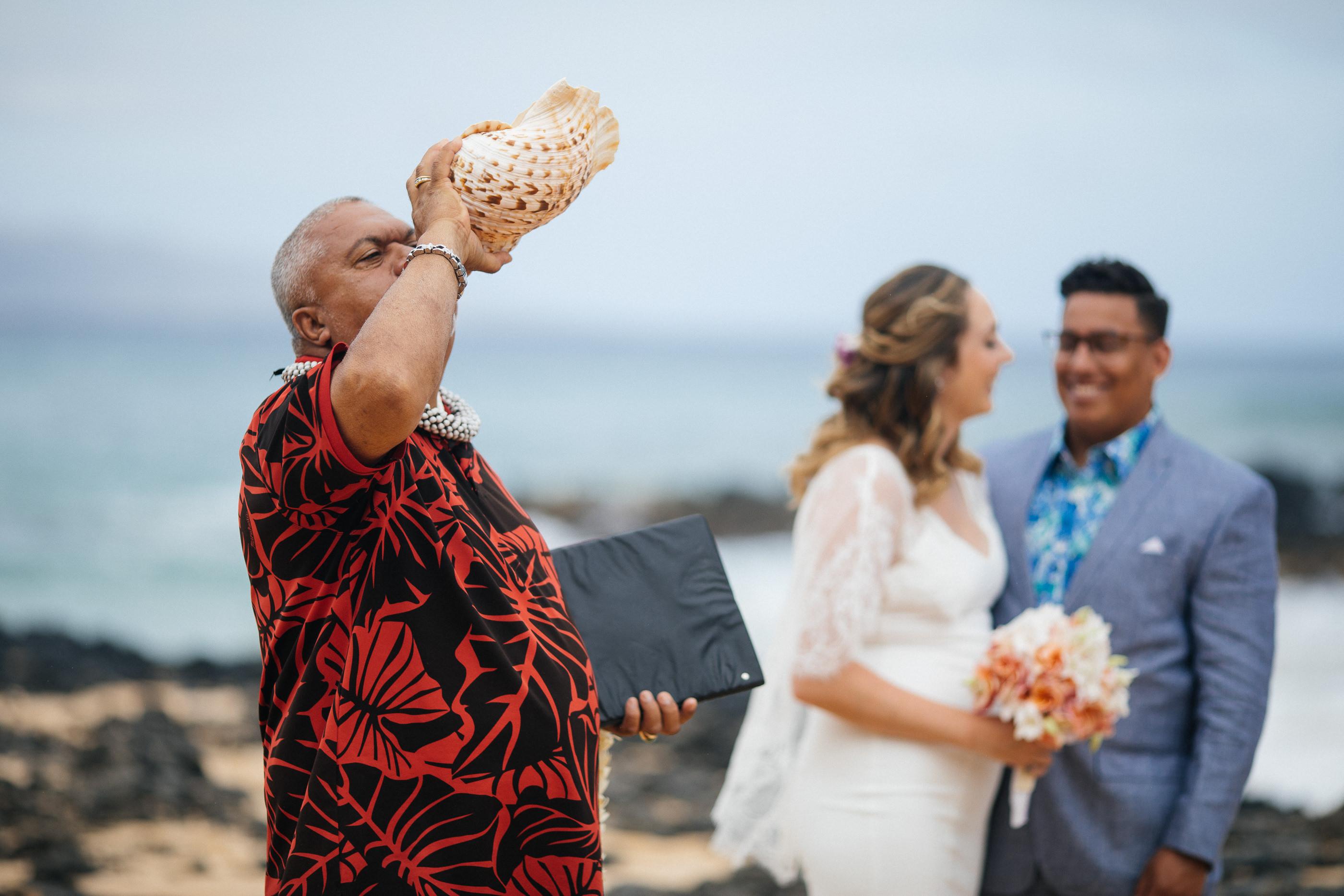 Hawaii Beach Ceremony