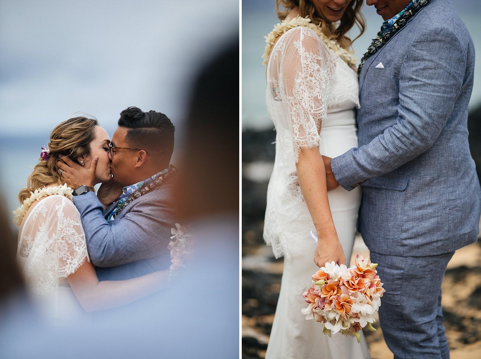 Wedding Ceremony Maui Secret Beach