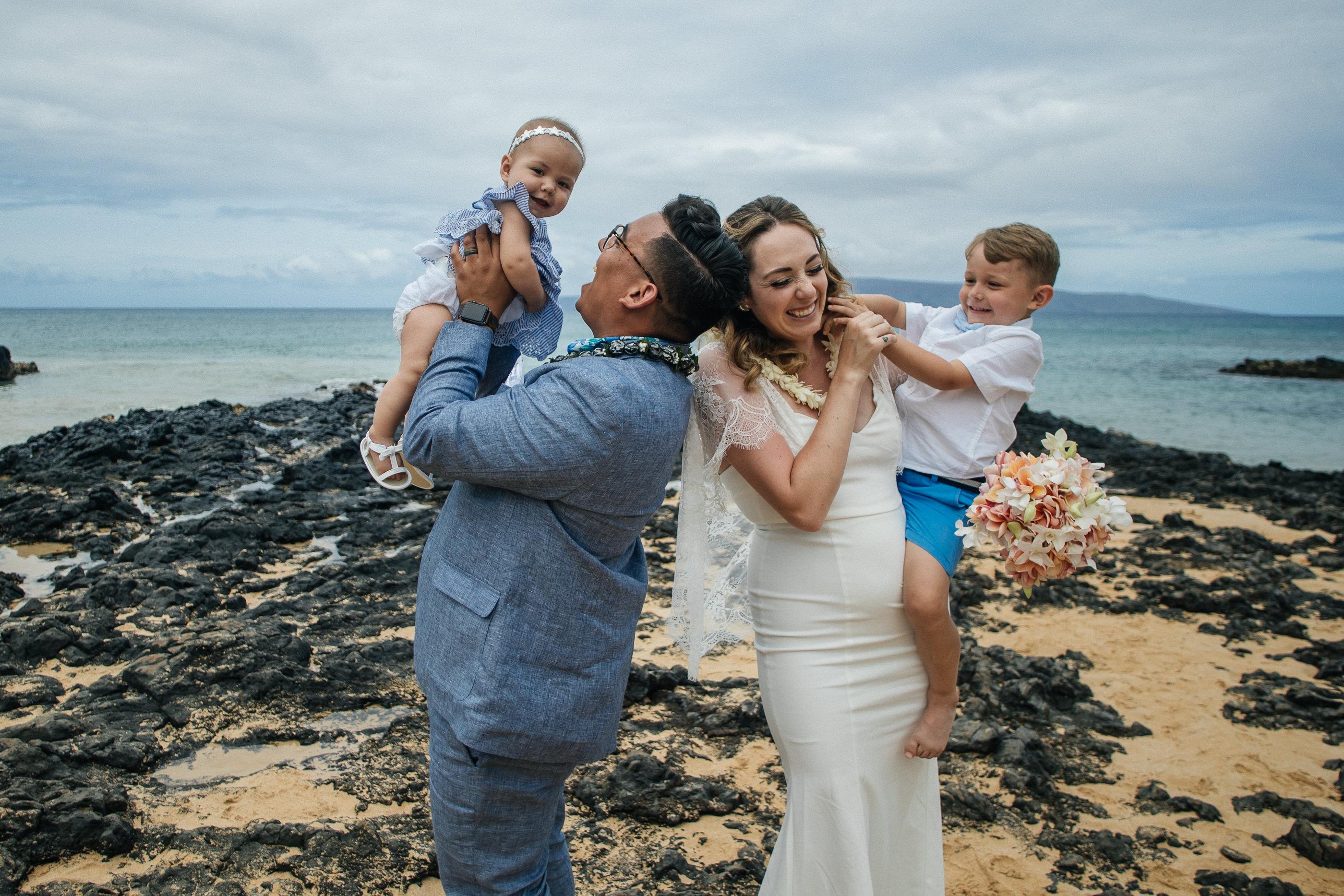 Makena Secret Cove Beach Maui Hawaii