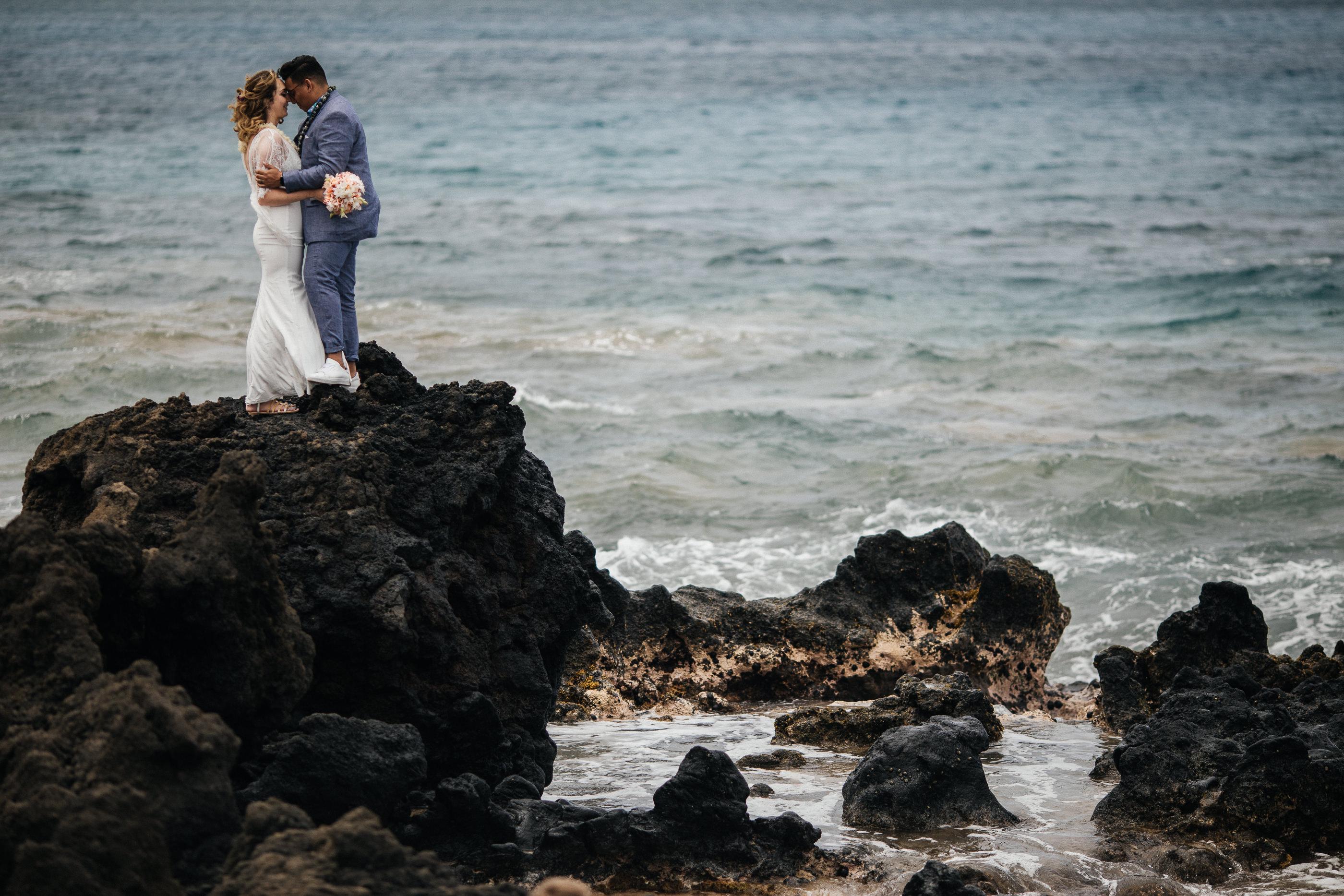 Maui Beach Wedding Hoalipi Trail