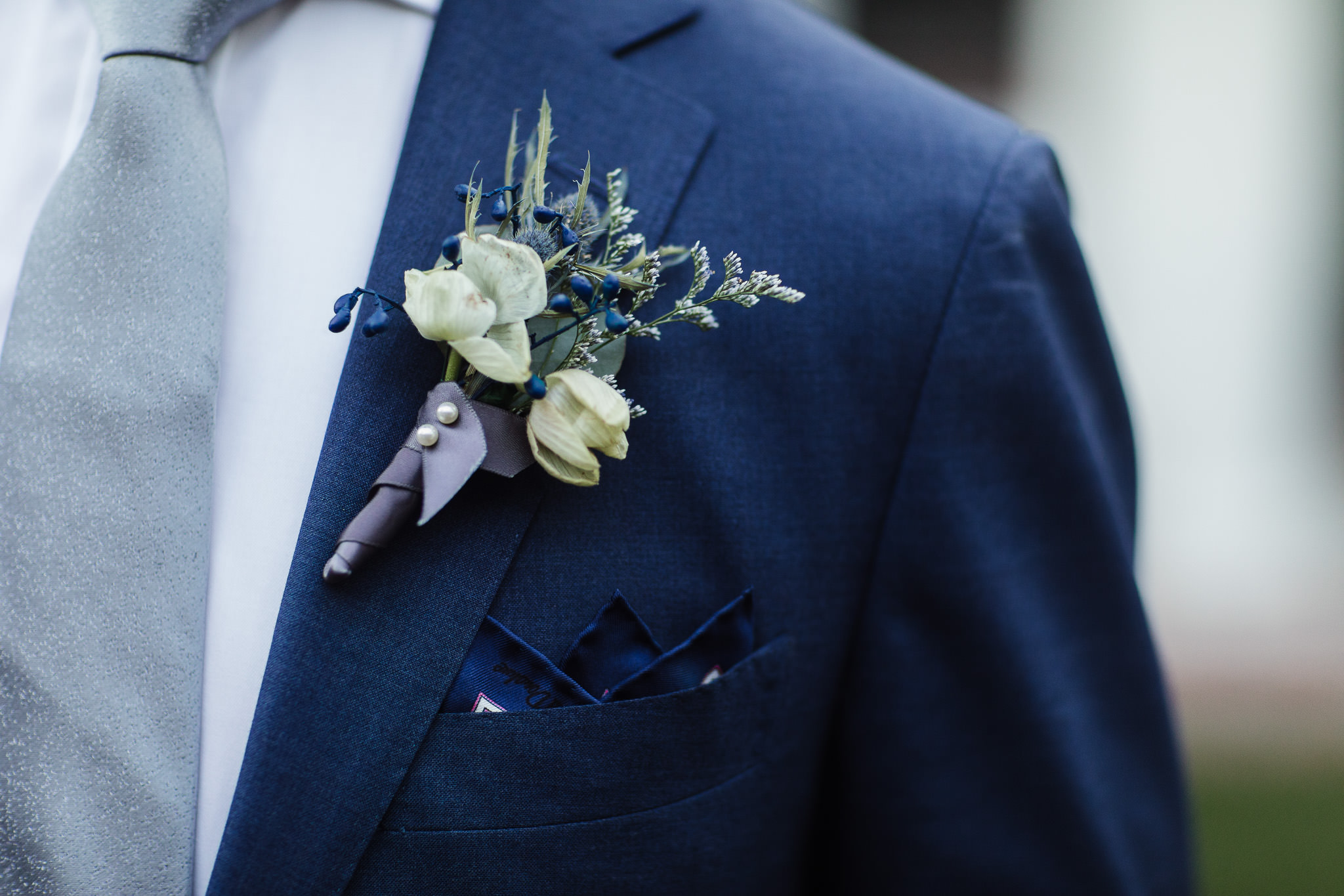 Newport Beach Wedding Boutonniere