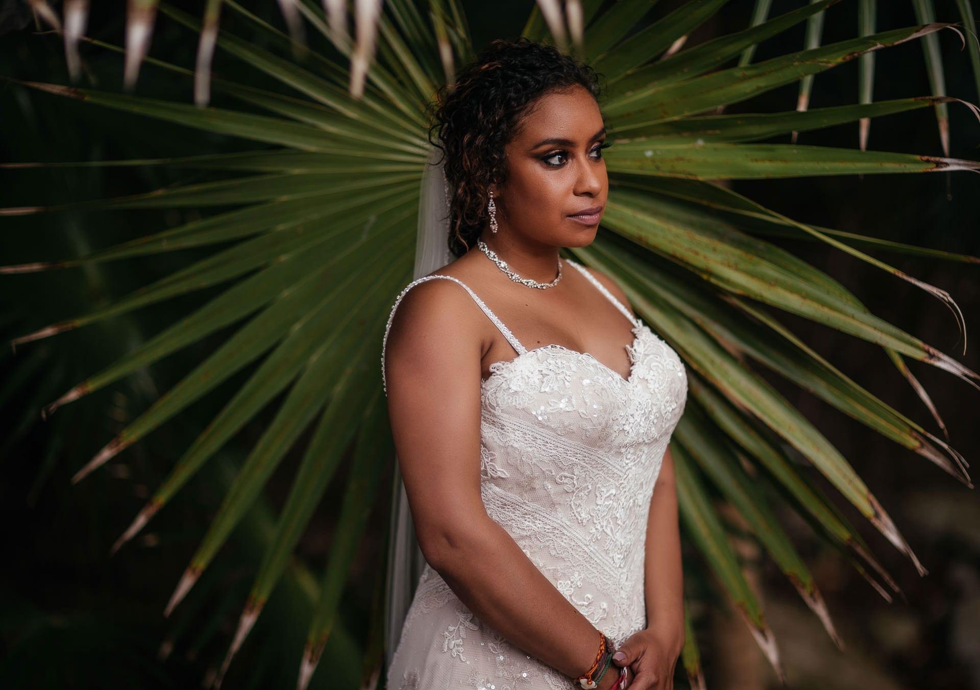 Bridal Portraits Cancun Mexico Wedding