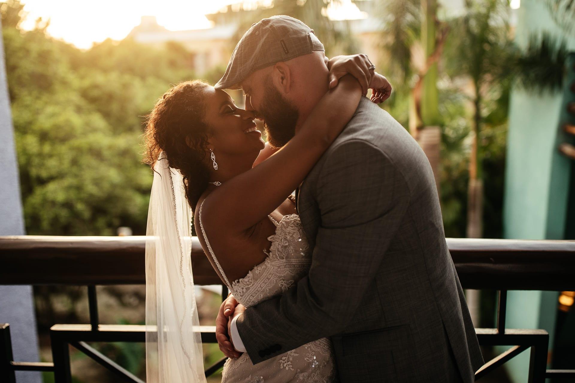 Cancun Mexico Wedding Portraits