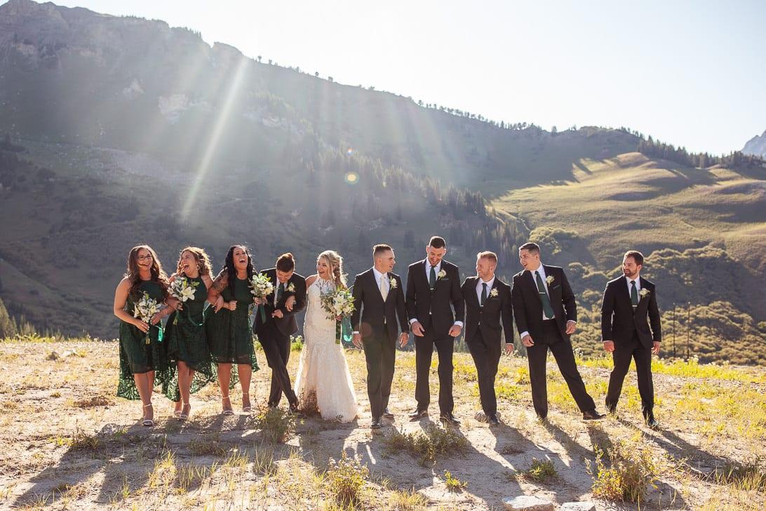 Wedding Part in Albion Basin