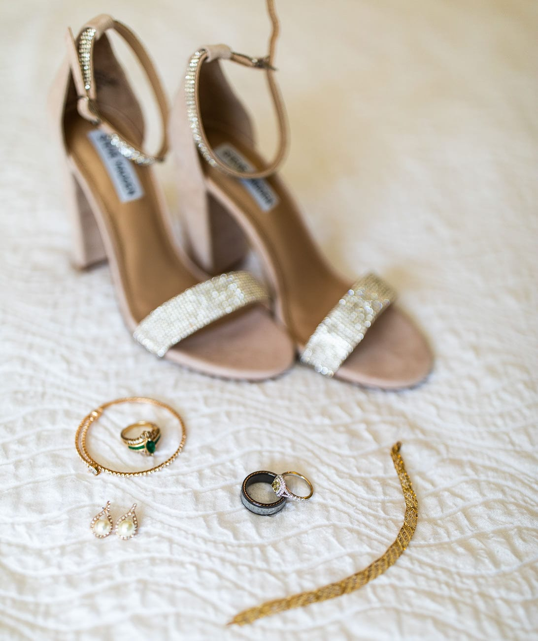 Wedding Details Shoes and Jewelry