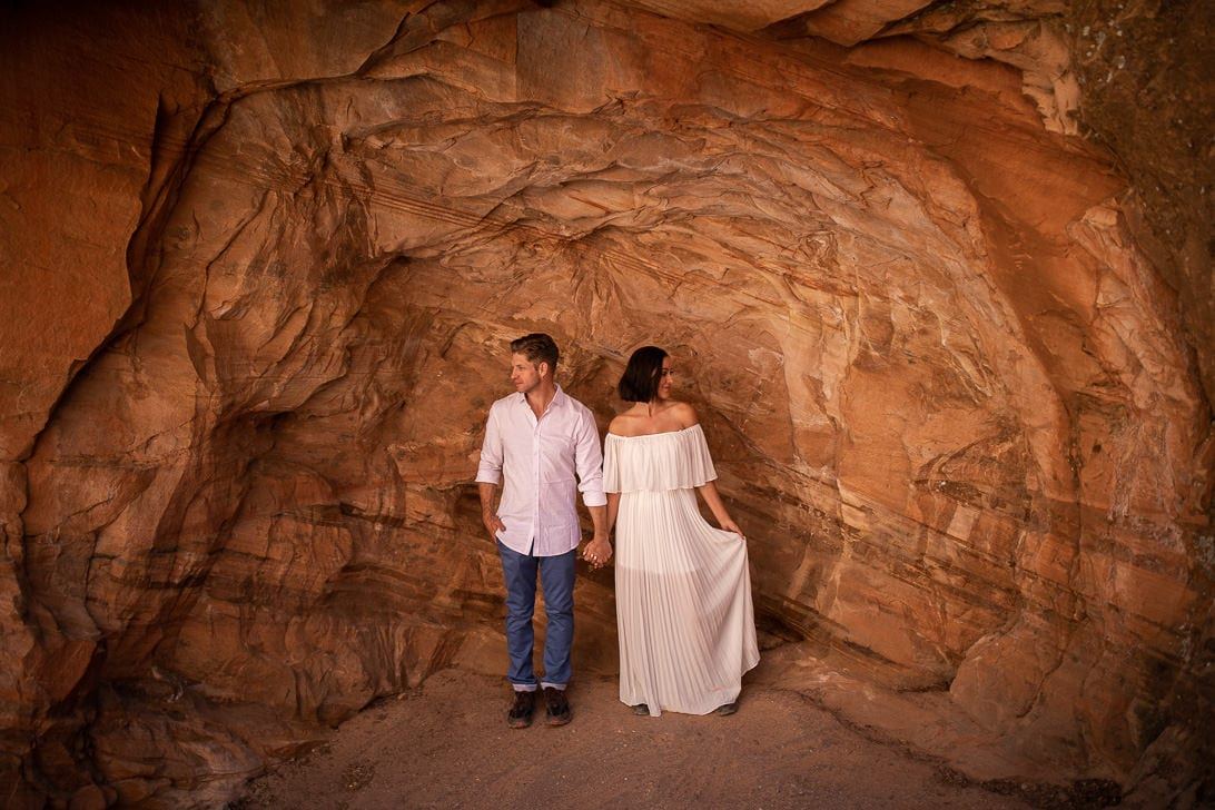Wedding Portraits on Angels Landing
