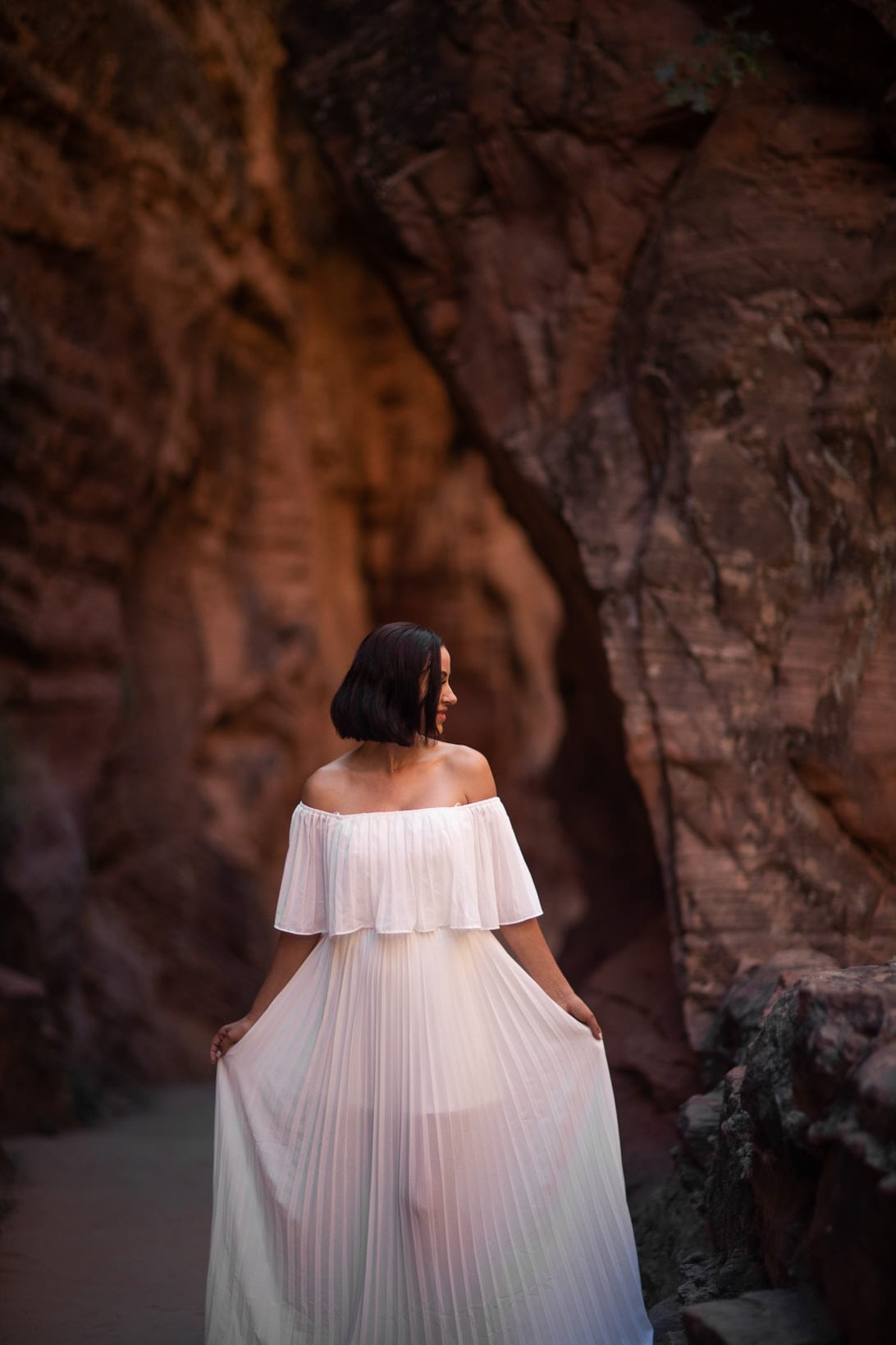 Bridal Portraits on Angels Landing