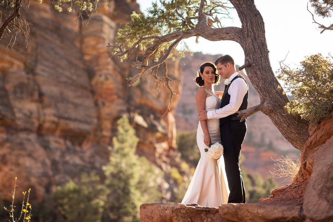 Wedding Portraits In Zion National Park
