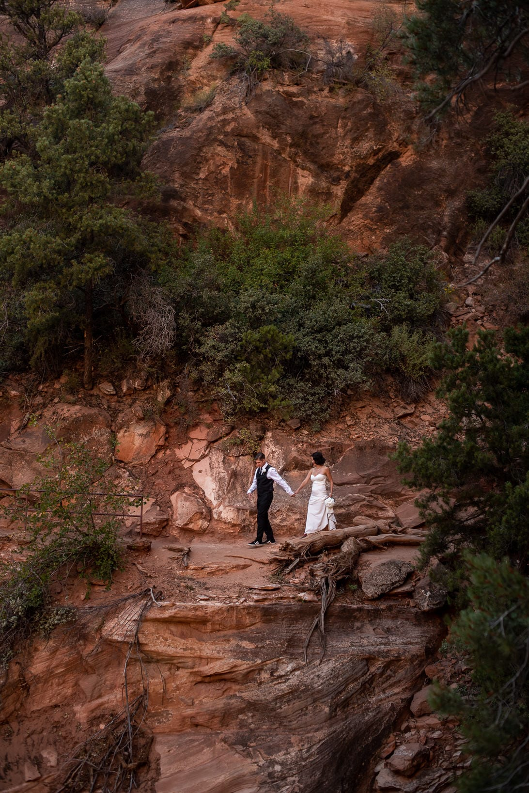 Zion National Park Wedding Photos