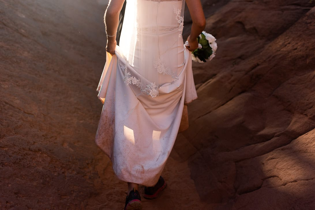 Zion National Park Wedding Details