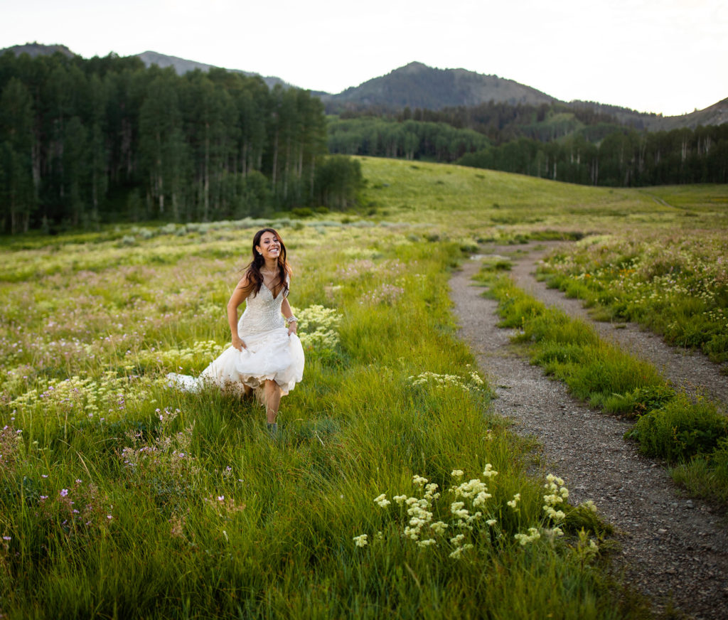Guardsman Pass Bridal Portraits