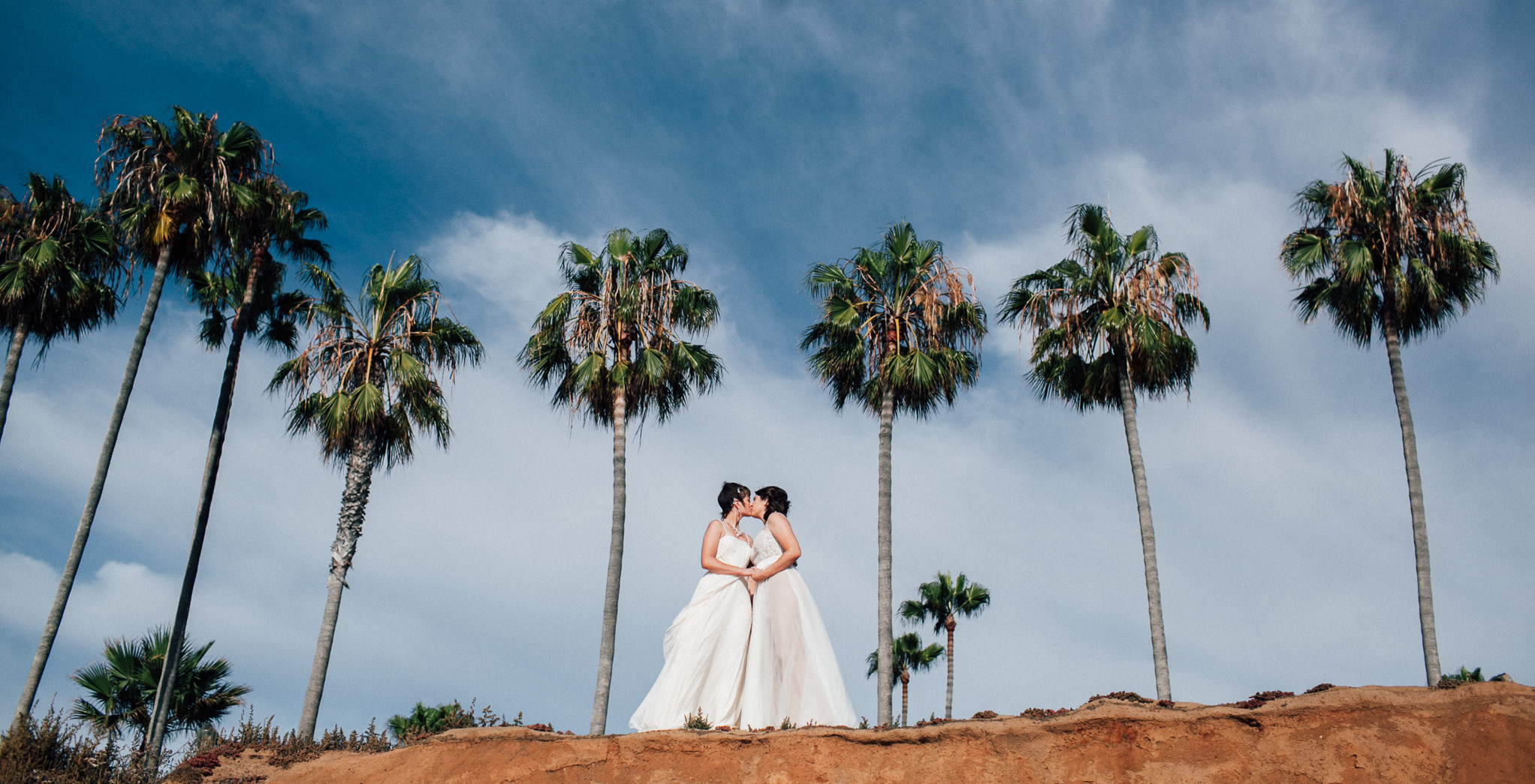 Two Brides in San Diego