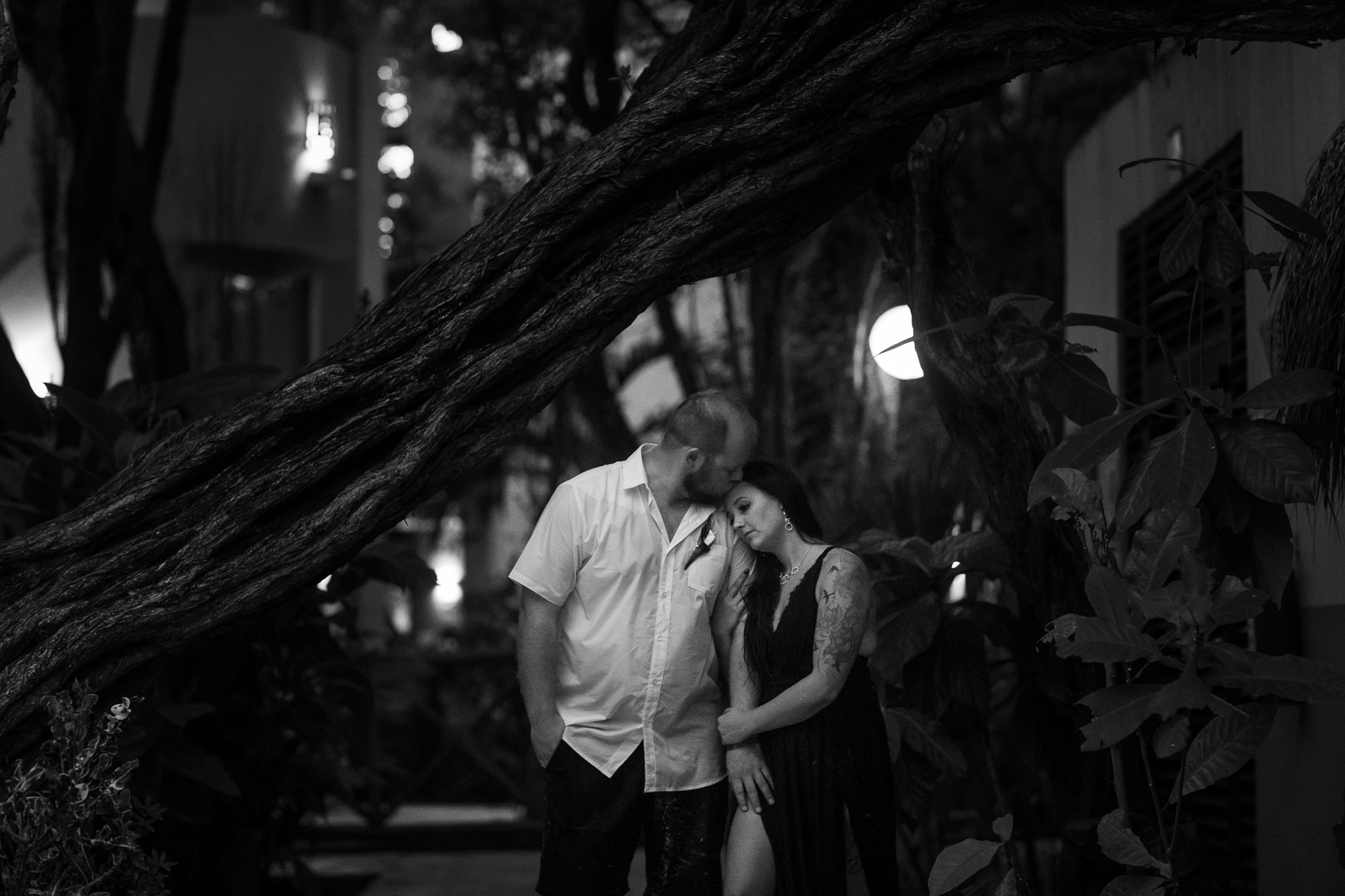 Couples Portraits on Playa Del Carmen Beach