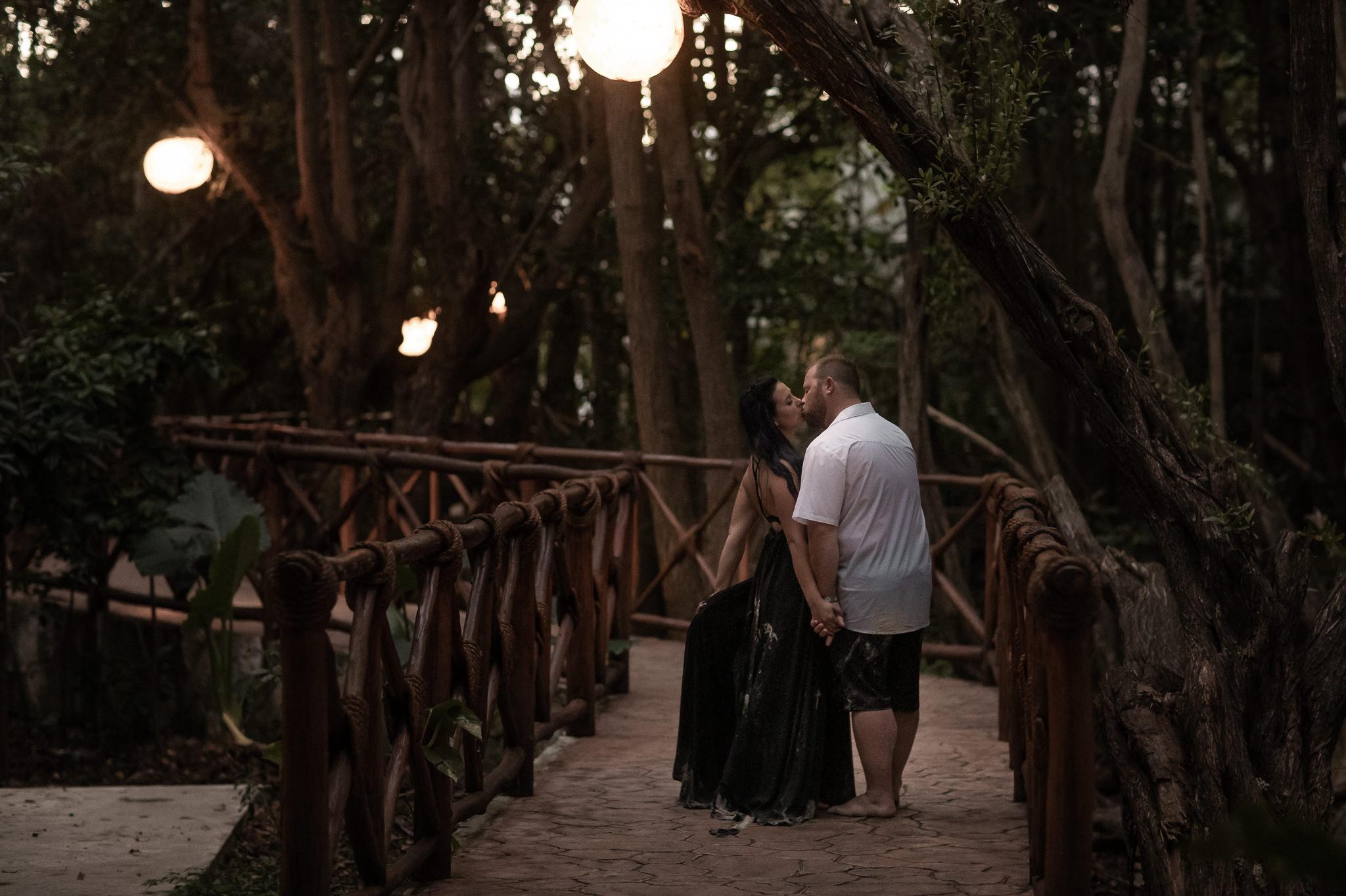 Couples Portraits on Playa Del Carmen Beach