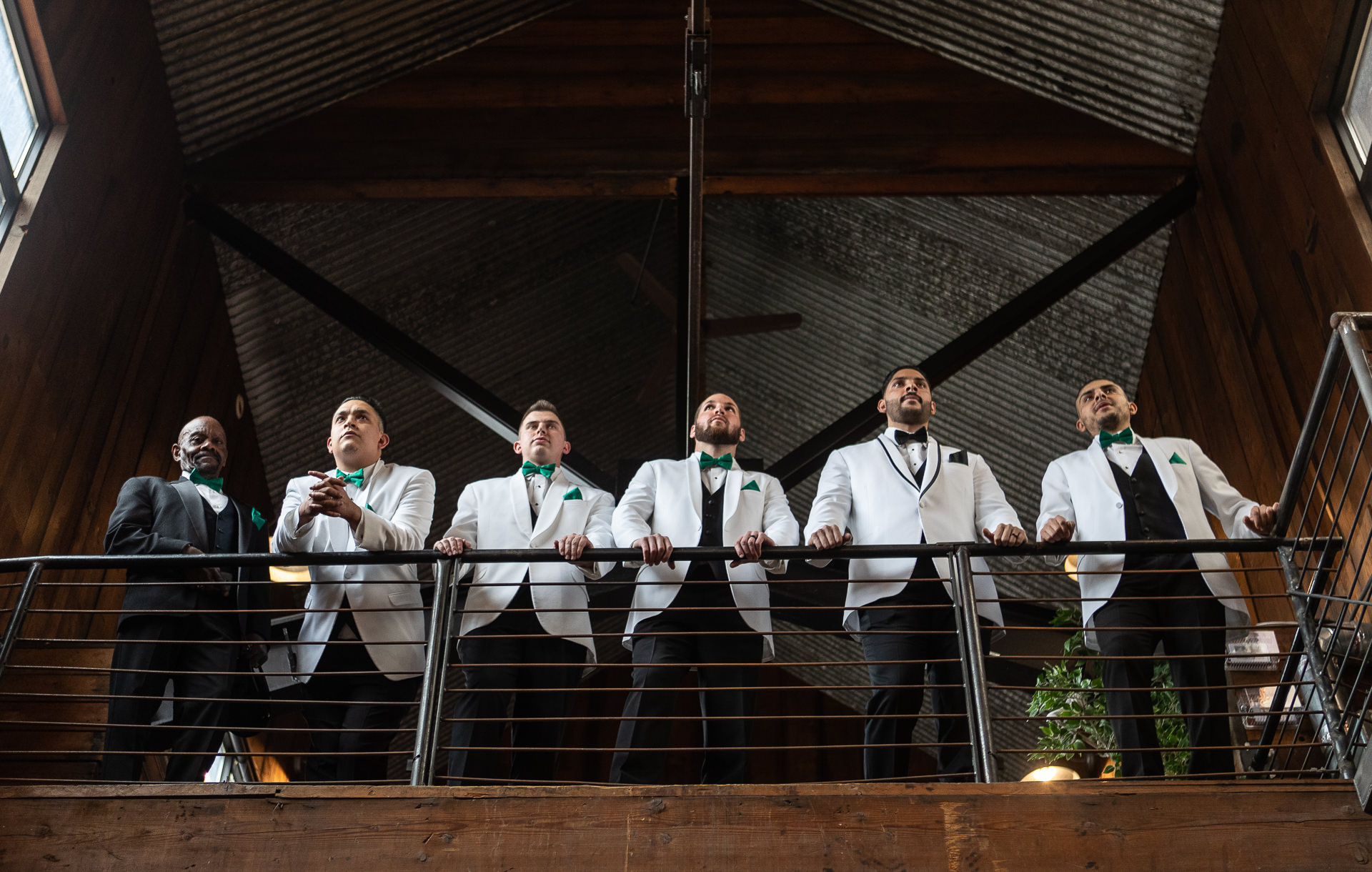 Knot and Pine Groomsman Portraits