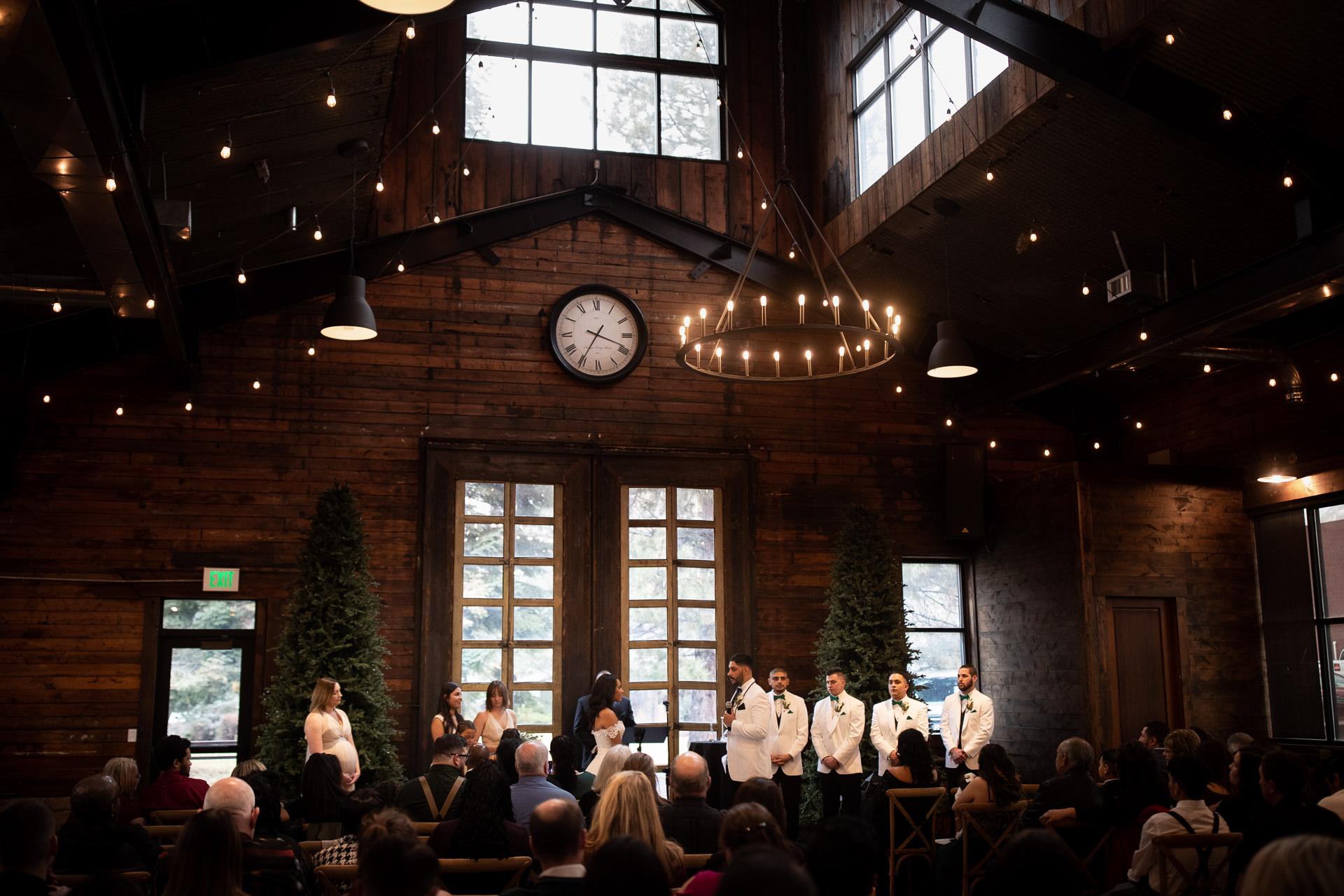 Knot and Pine Barn Winter Wedding