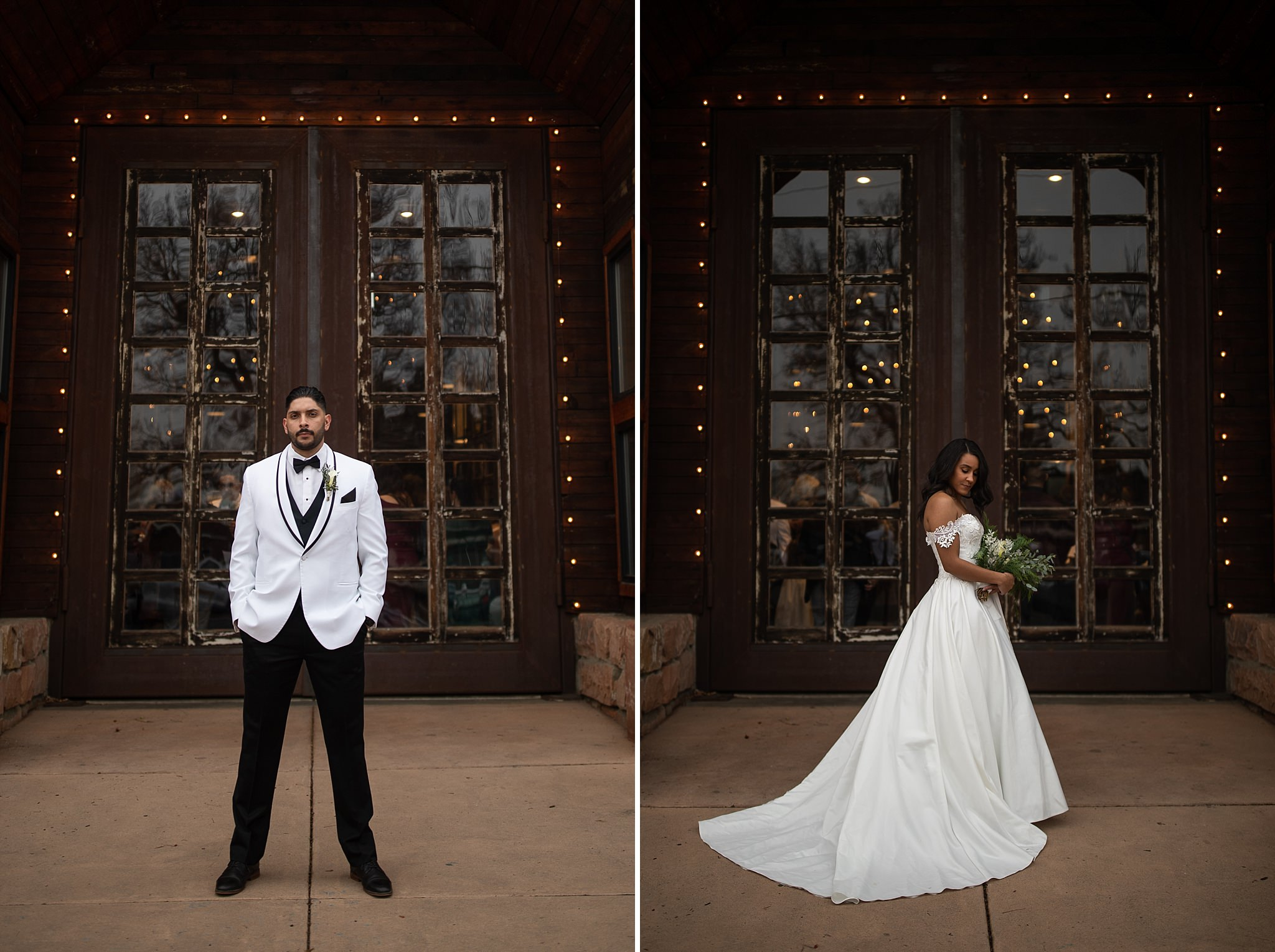 Winter Wedding Formal Portraits
