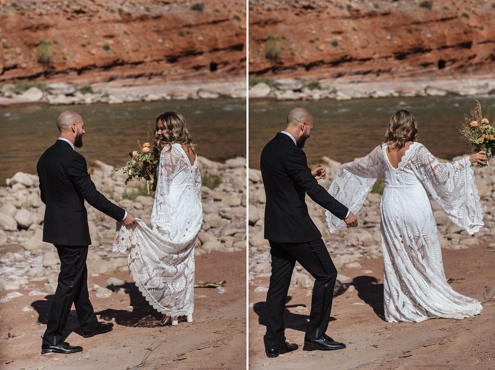 First Look Portraits in Moab Utah