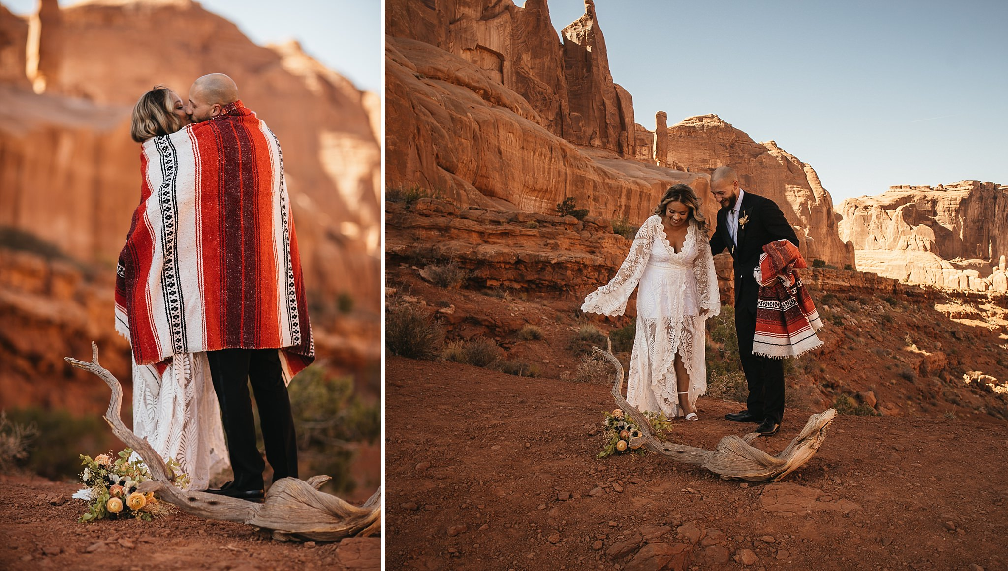 Moab Elopement in Arches National Park