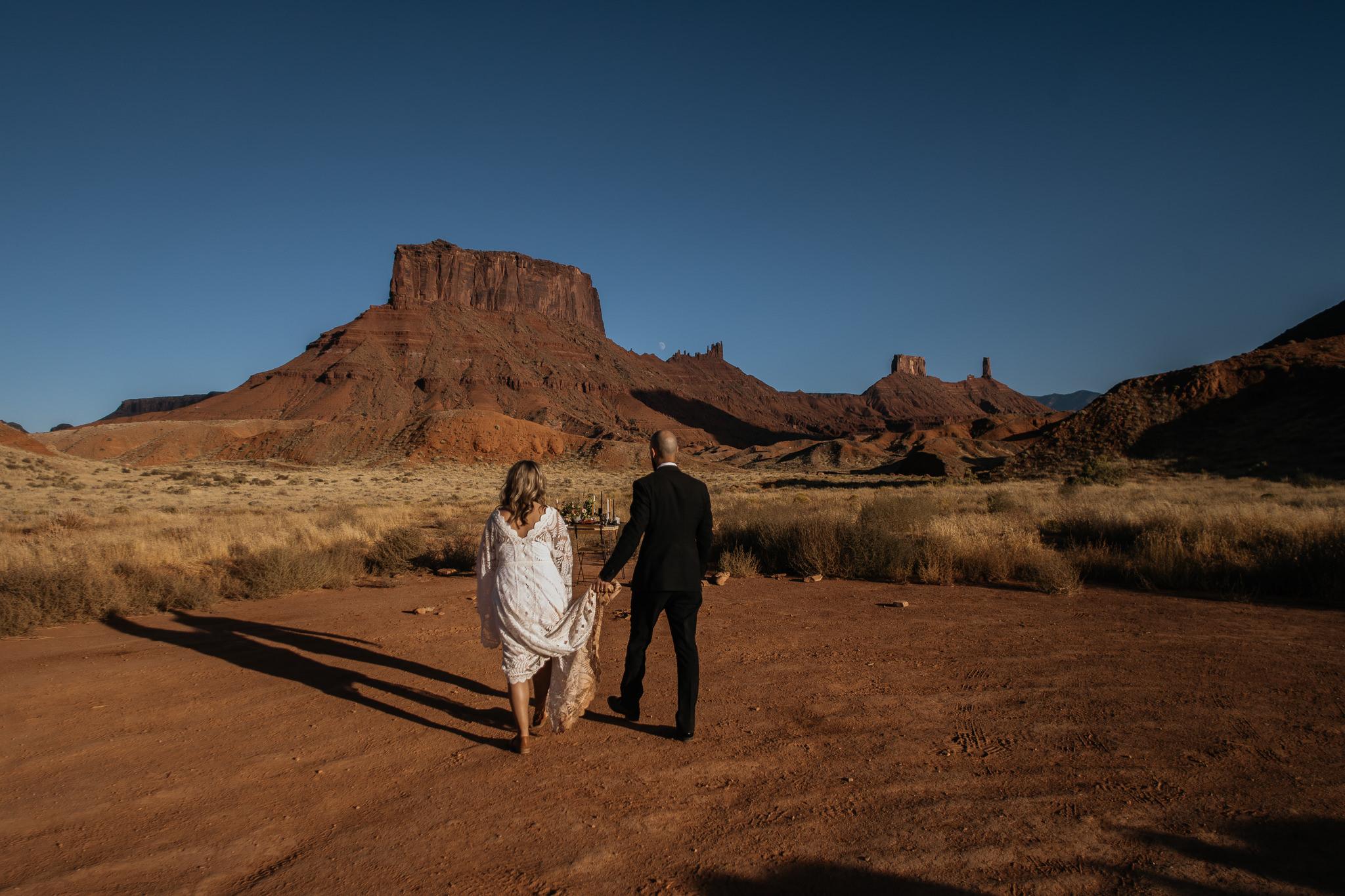 Wedding Portraits in Moab Utah
