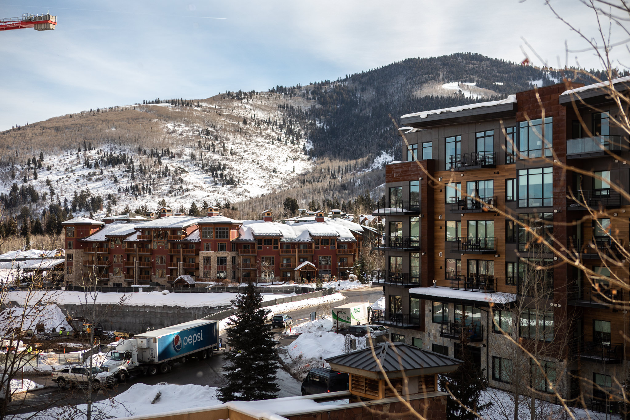 Park City Hyatt Centric Hotel in the Winter