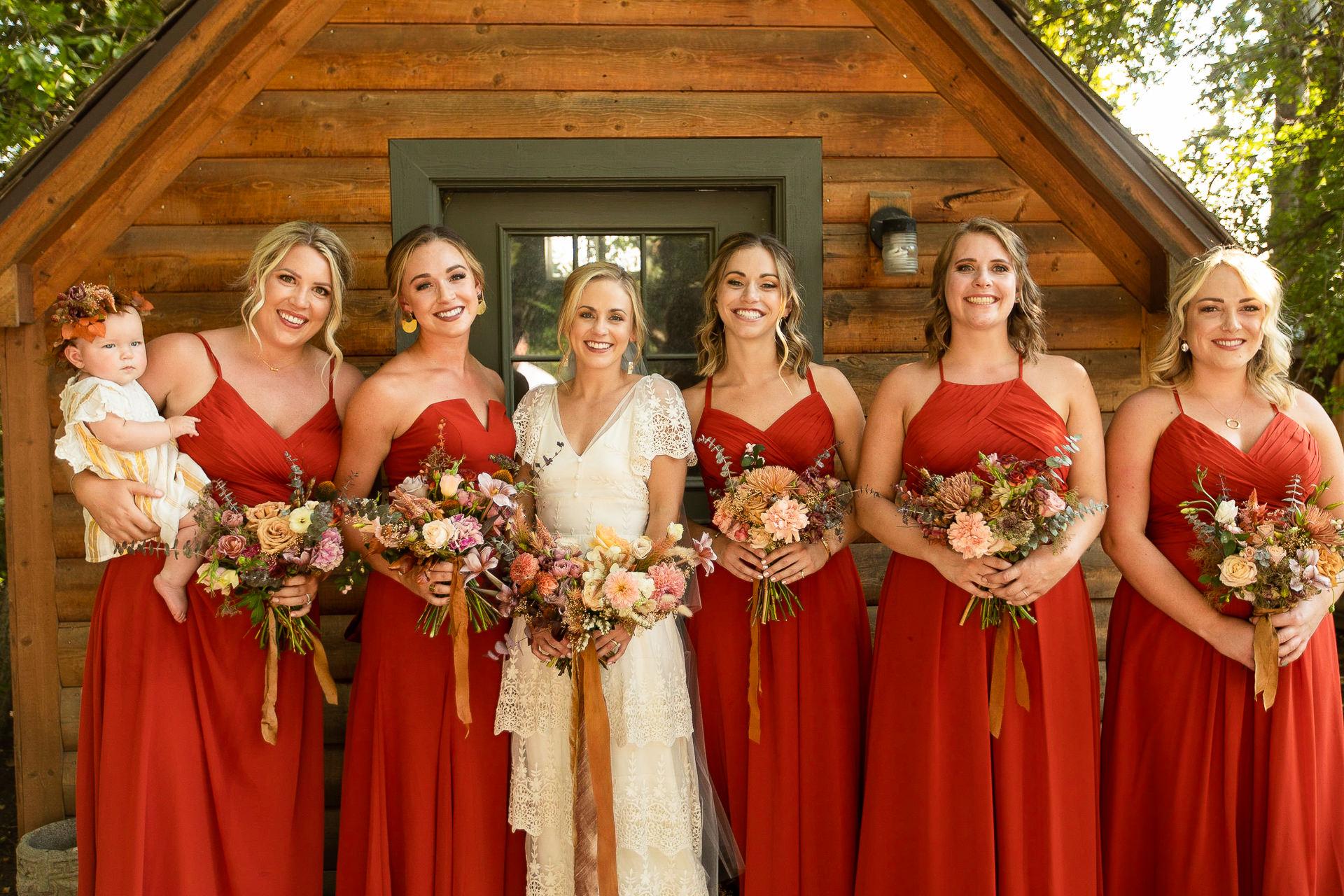 Wedding Party Bridesmaids