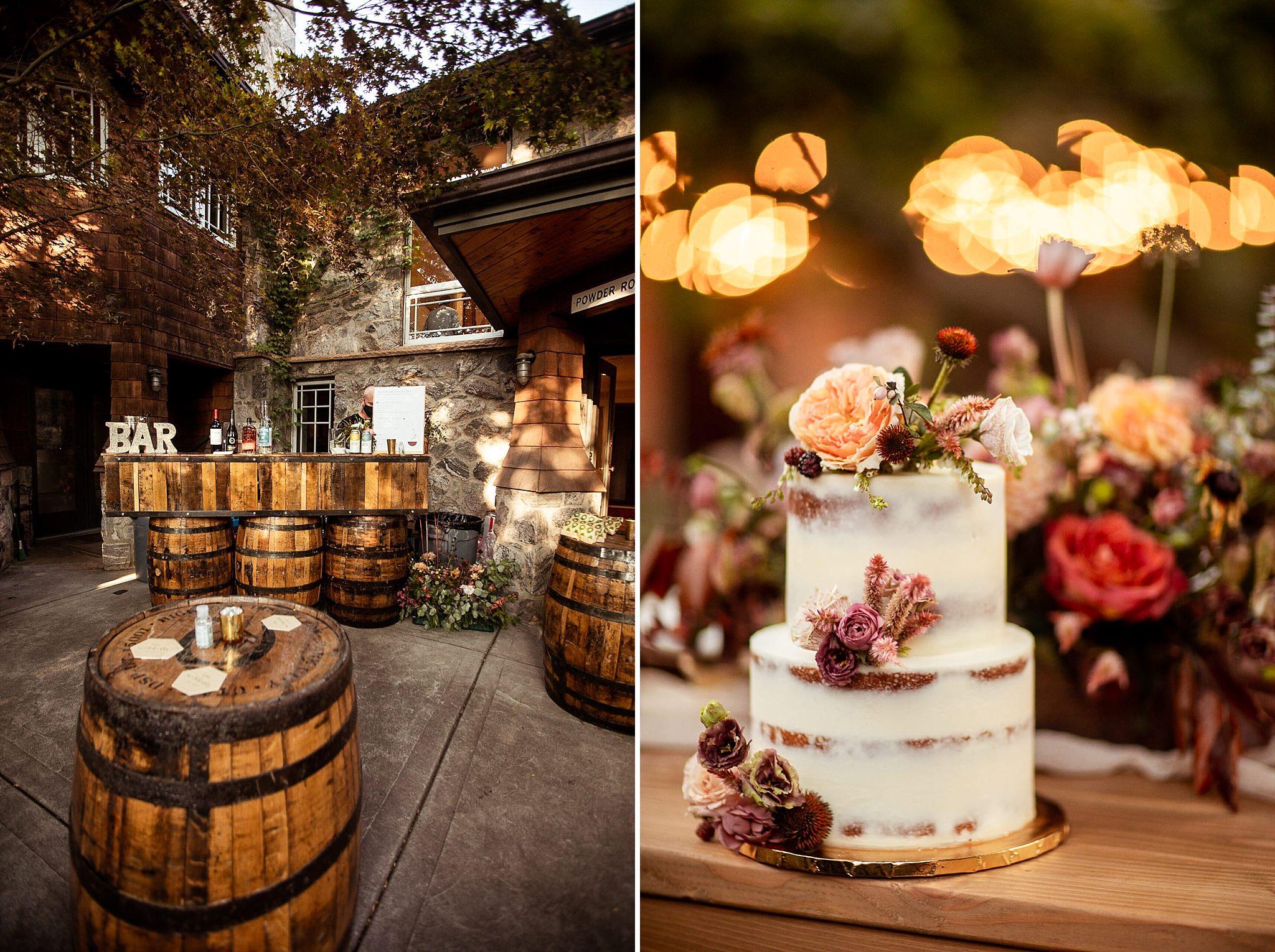 Wedding Details Cake Bar