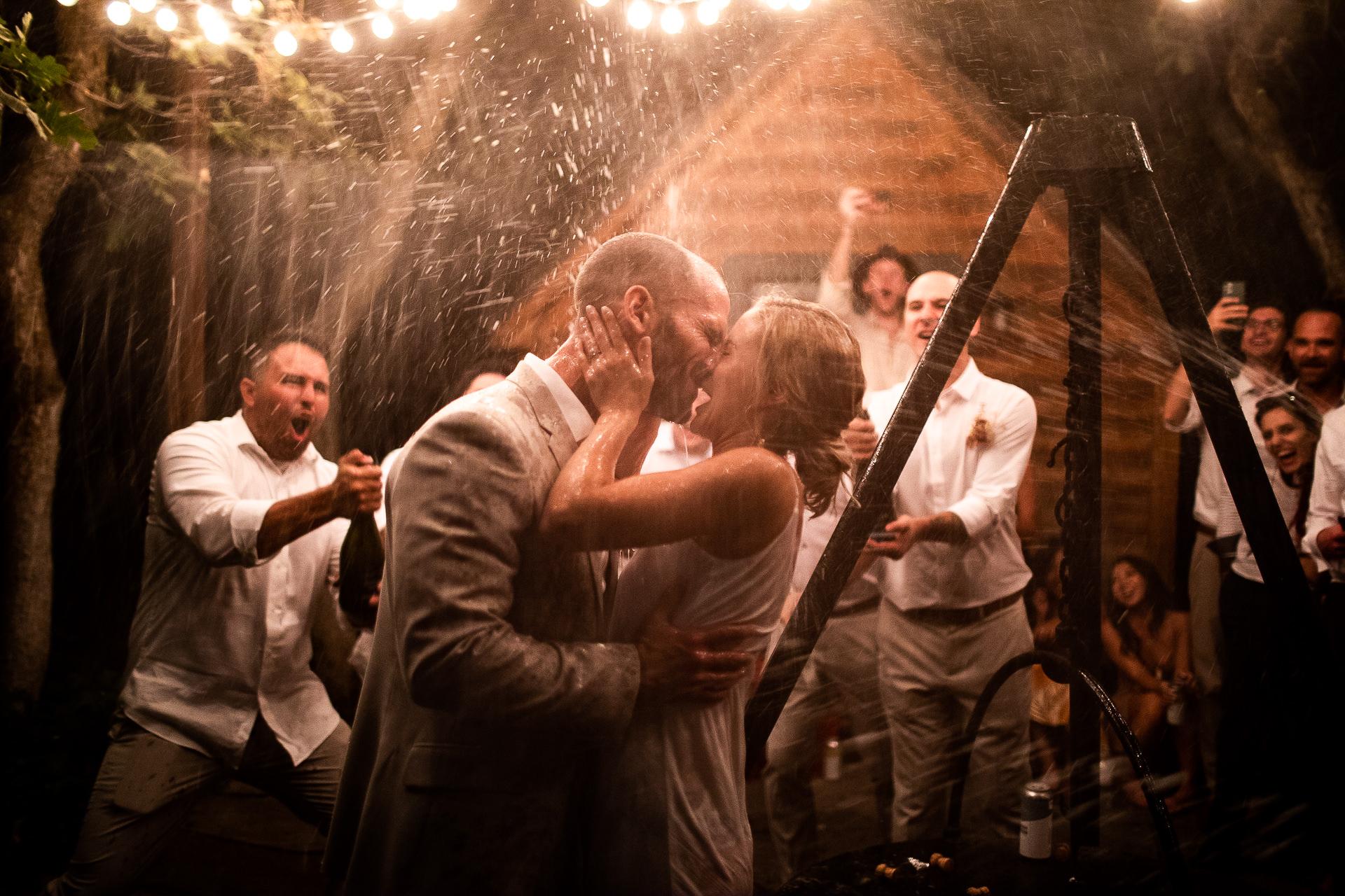 Wedding Champagne Send off