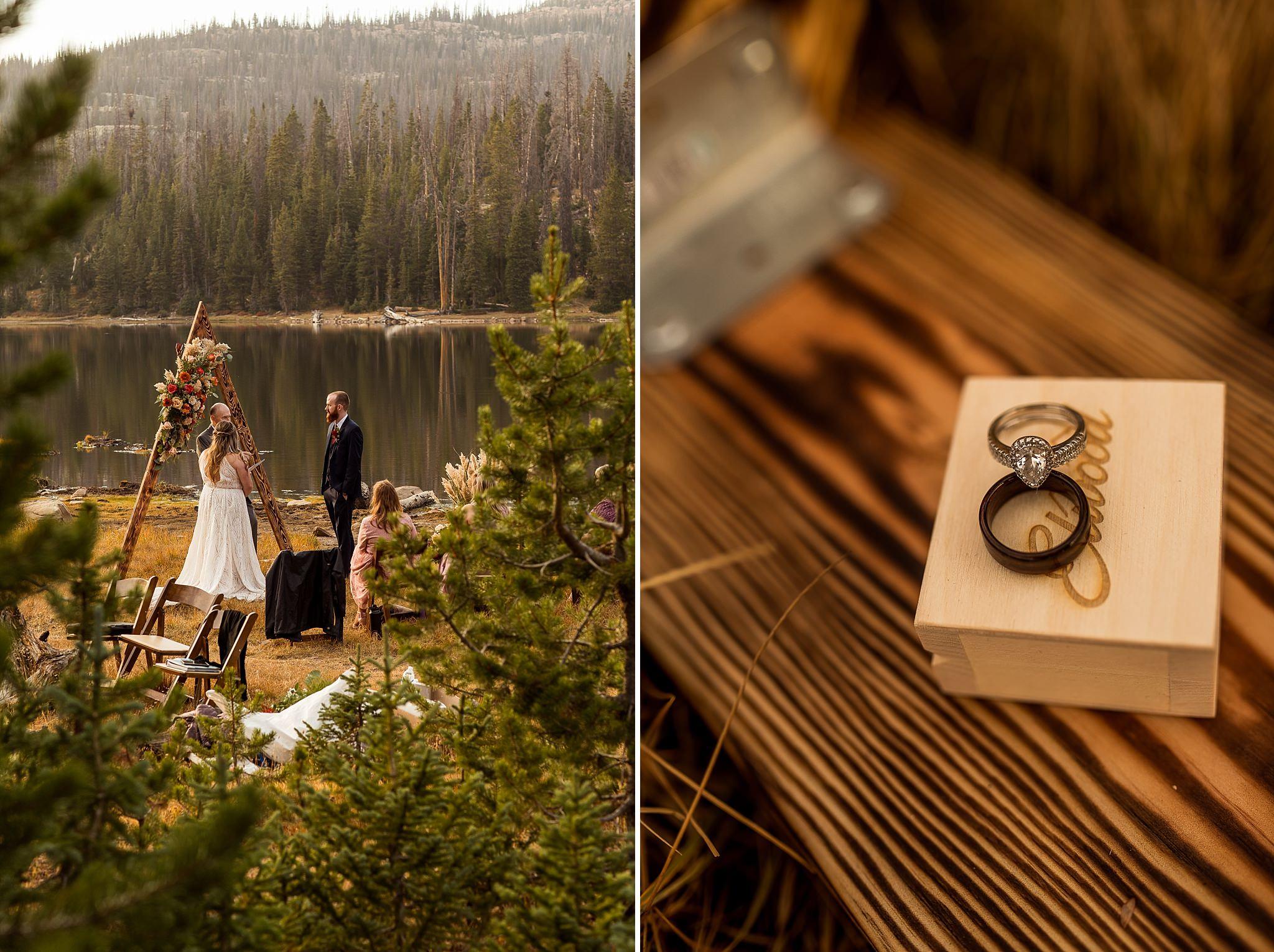 Crater Lake Intimate Wedding Details